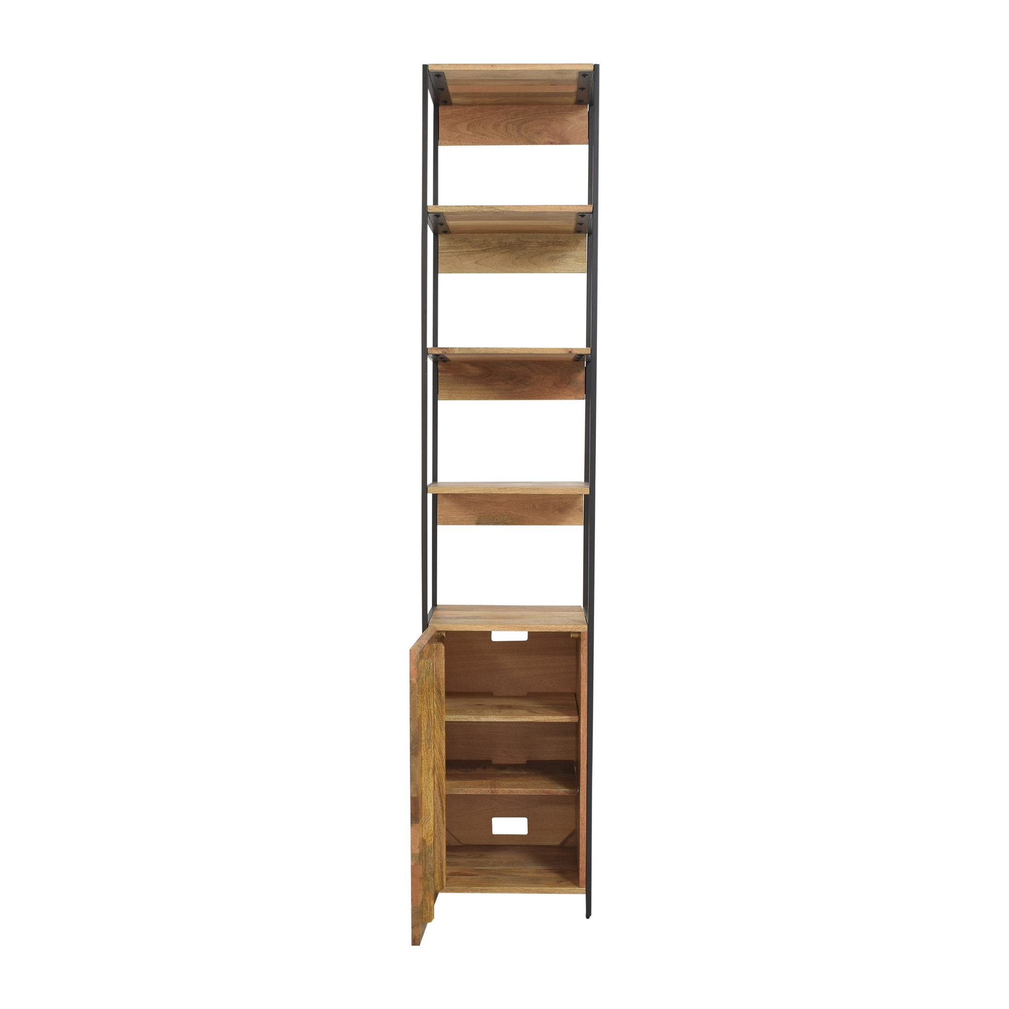 West Elm West Elm Industrial Modular Open and Closed Storage price