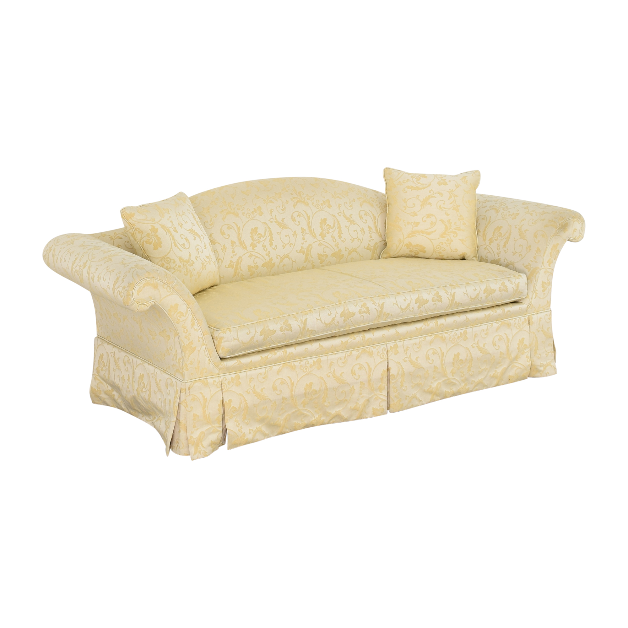 Kindel Kindel Skirted Camelback Sofa on sale