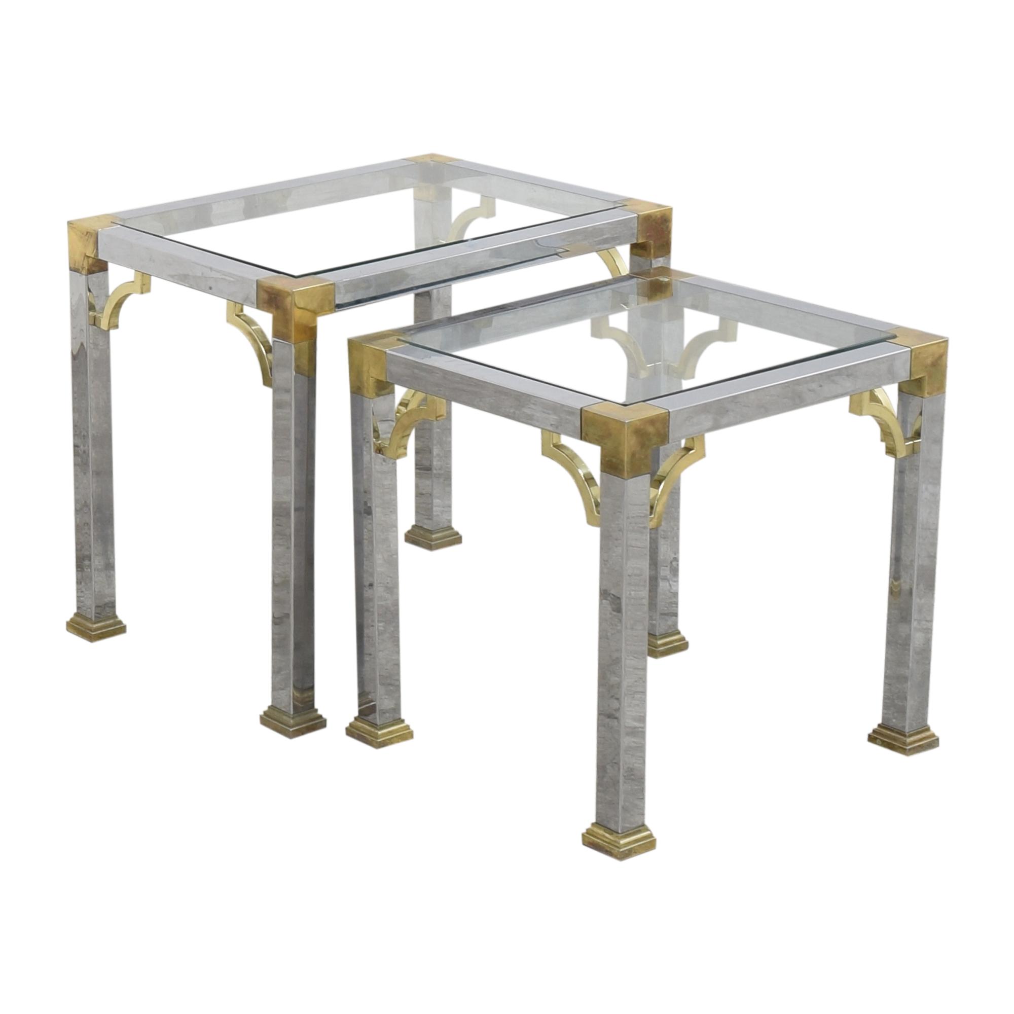 shop B. Altman Nesting End Tables B. Altman Tables