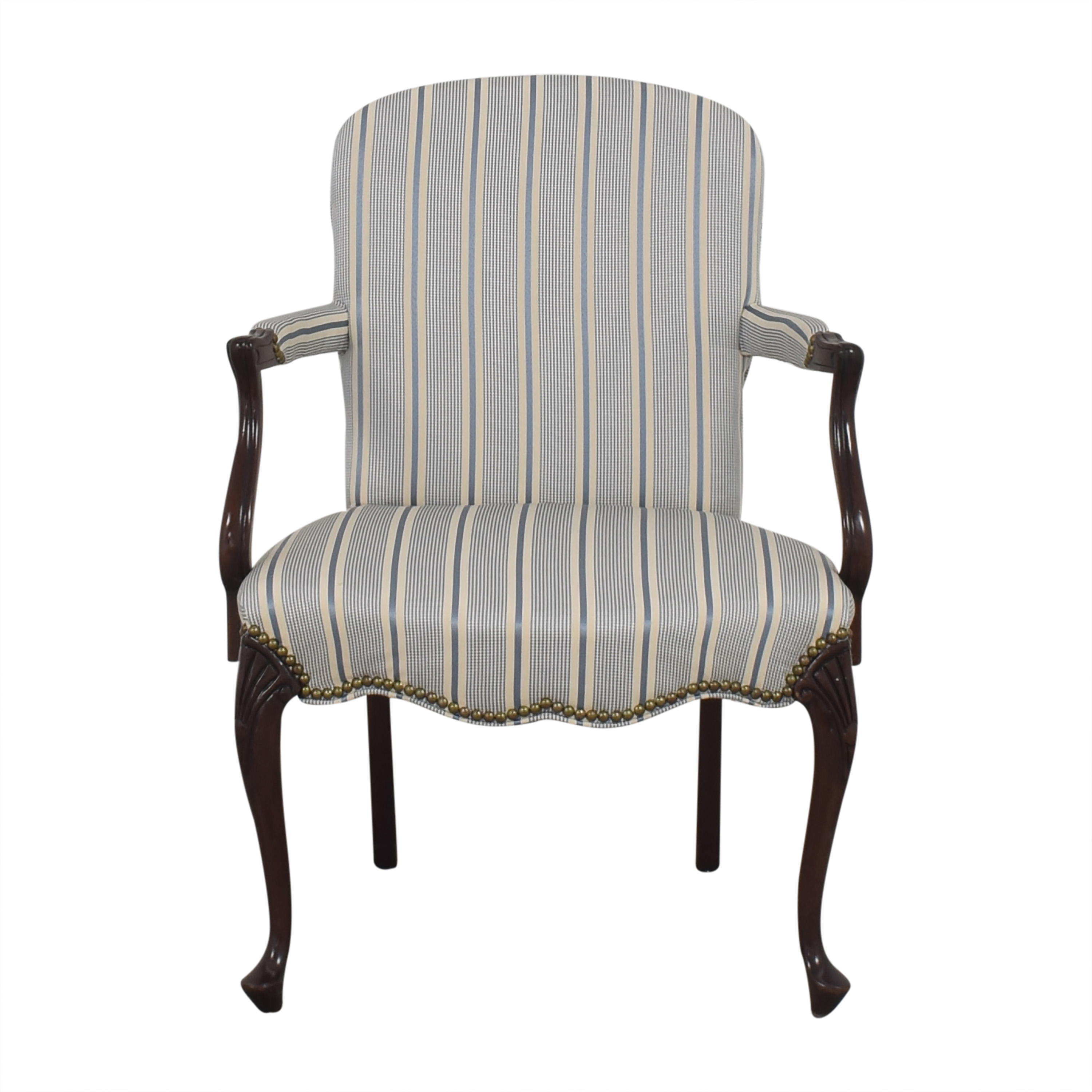 Hickory Chair Upholstered Accent Chair Hickory Chair