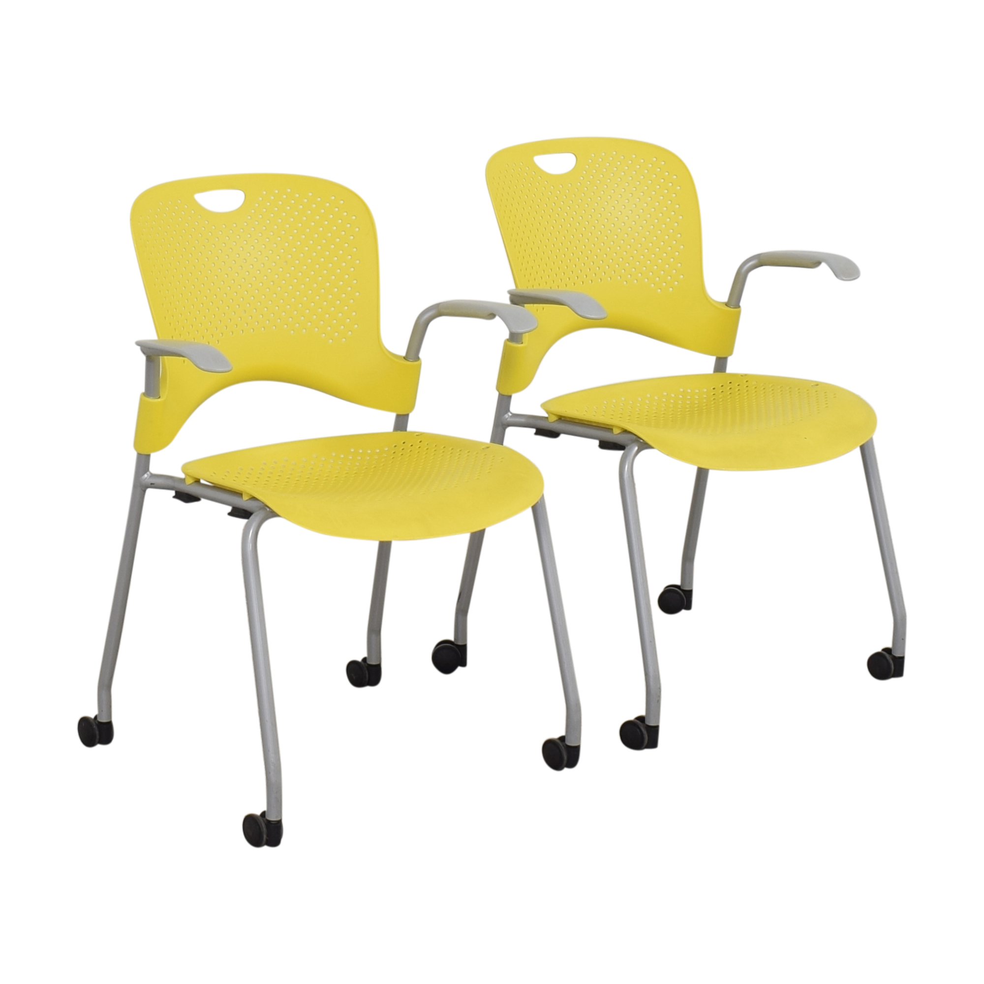Herman Miller  Herman Miller Caper Stacking Chairs used