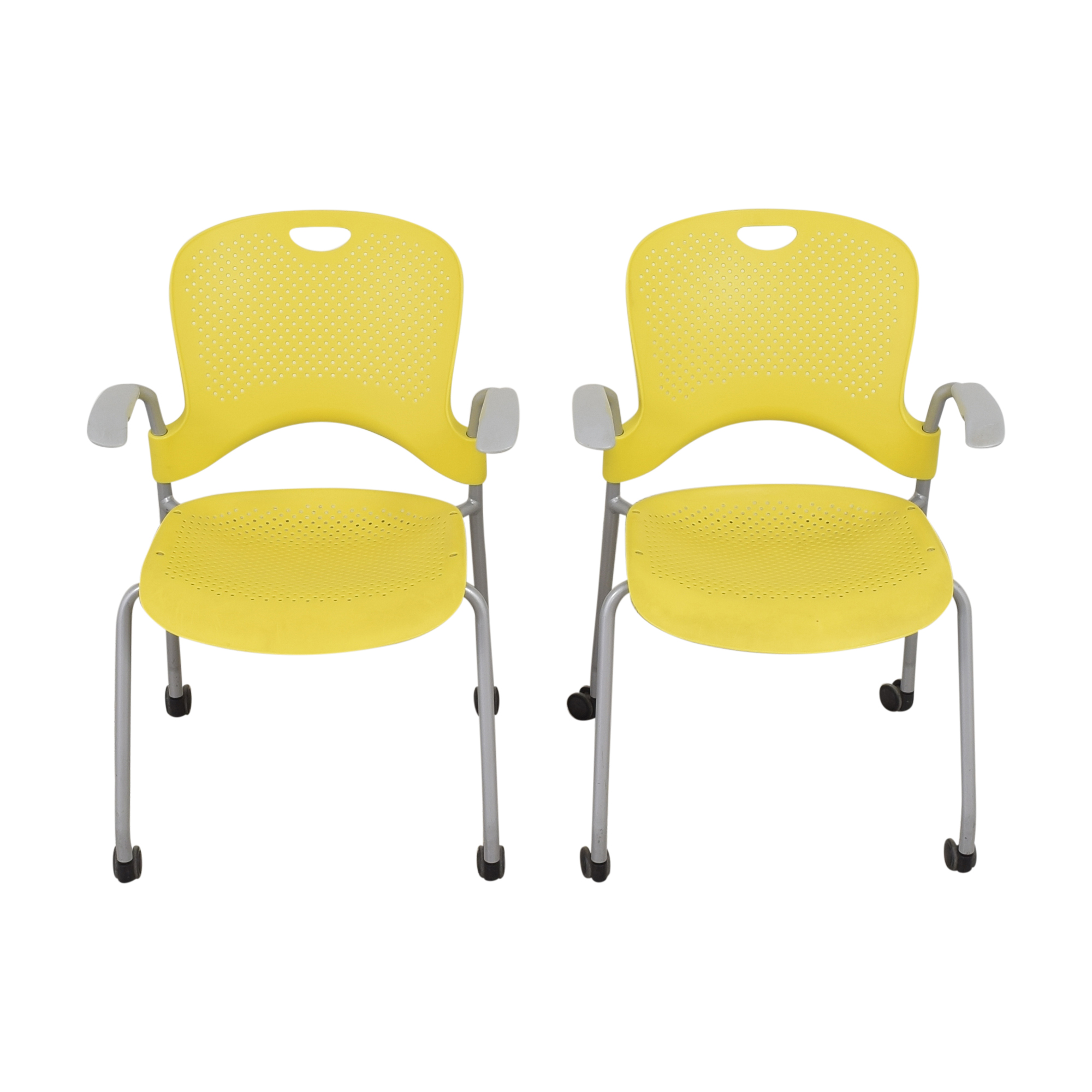 Herman Miller  Herman Miller Caper Stacking Chairs Home Office Chairs