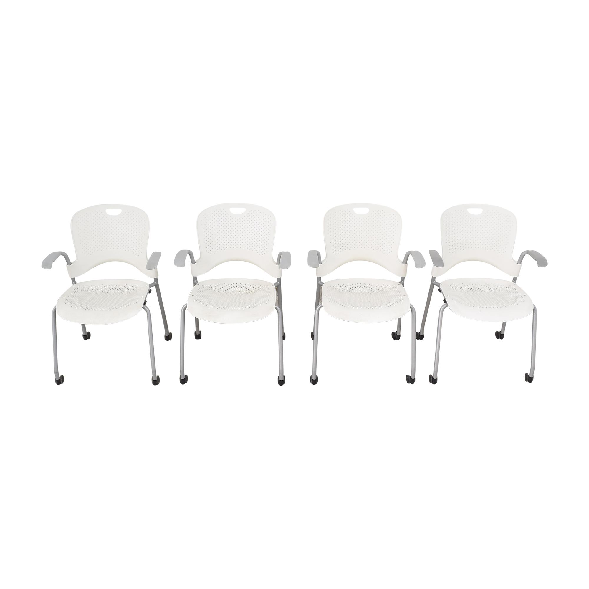 shop Herman Miller Caper Stacking Chairs Herman Miller