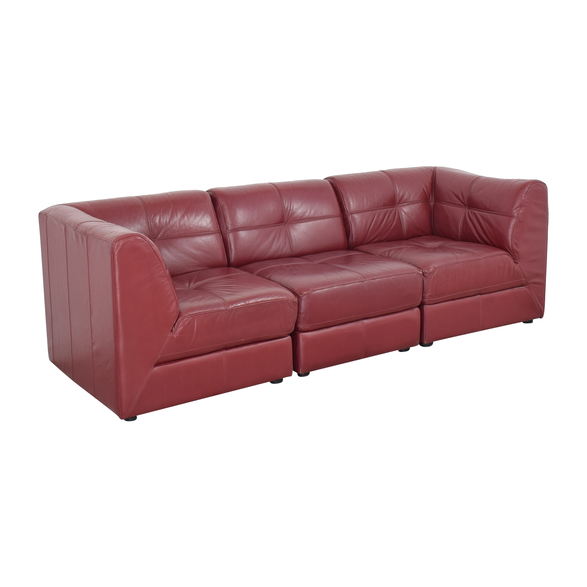Raymour & Flanigan Raymour & Flanigan Modular Sofa Sectionals