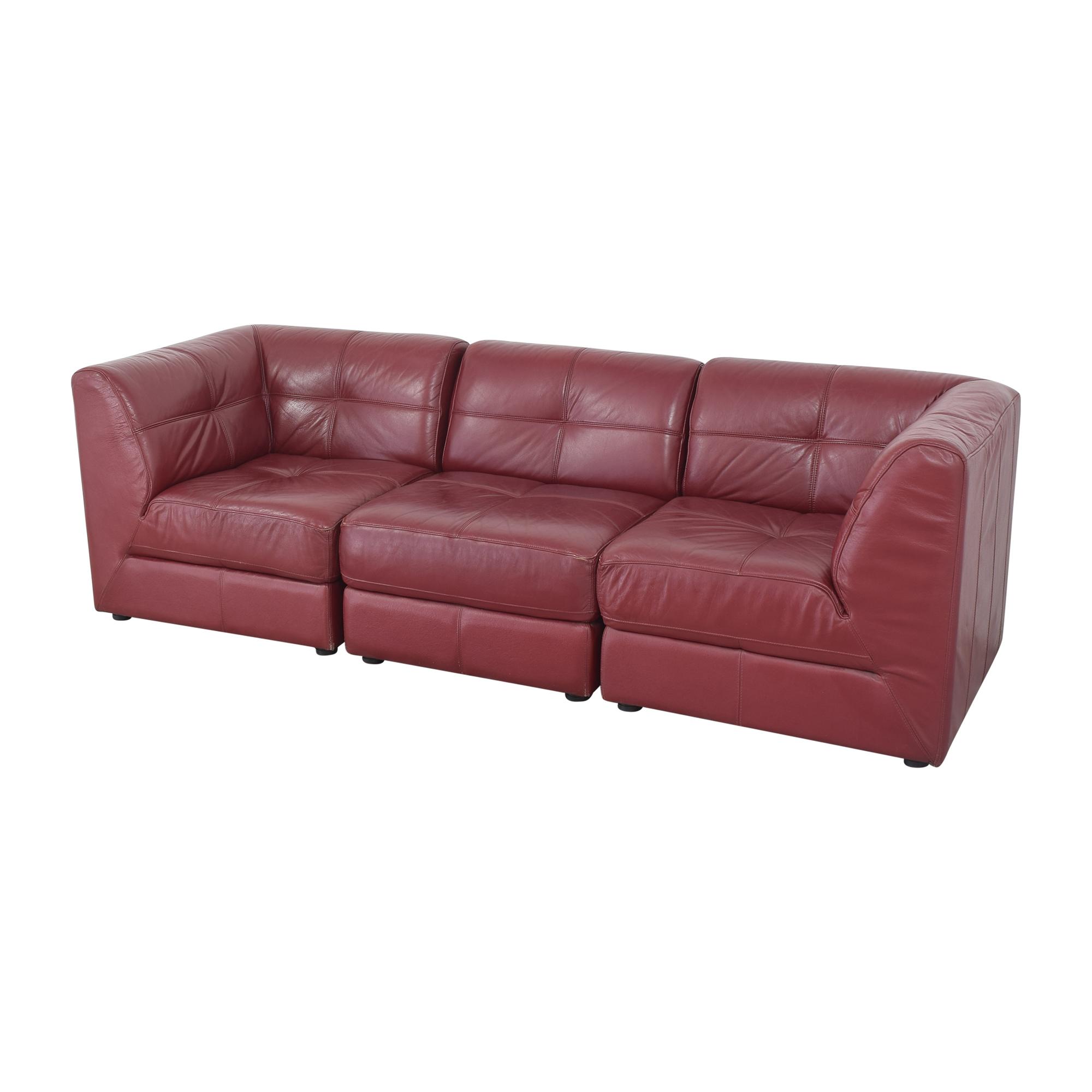 buy Raymour & Flanigan Modular Sofa Raymour & Flanigan