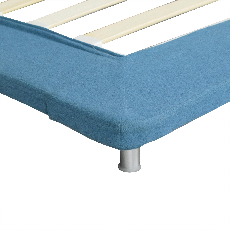 Blu Dot Blu Dot Nook Twin Bed blue