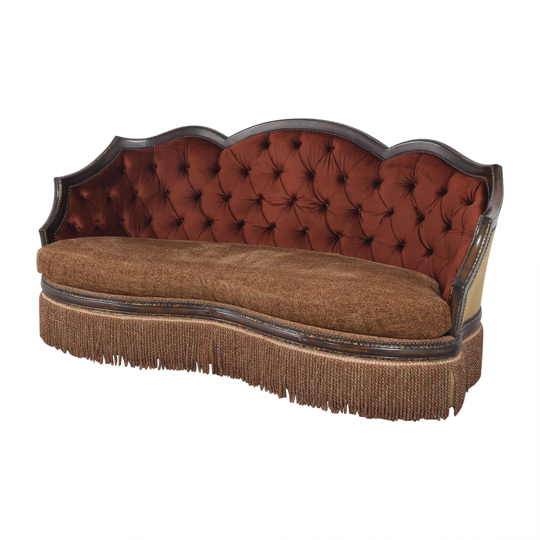 ABC Carpet & Home ABC Carpet & Home Ornate Sofa with Ottoman nyc