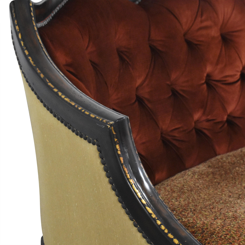 ABC Carpet & Home ABC Carpet & Home Ornate Sofa with Ottoman Classic Sofas