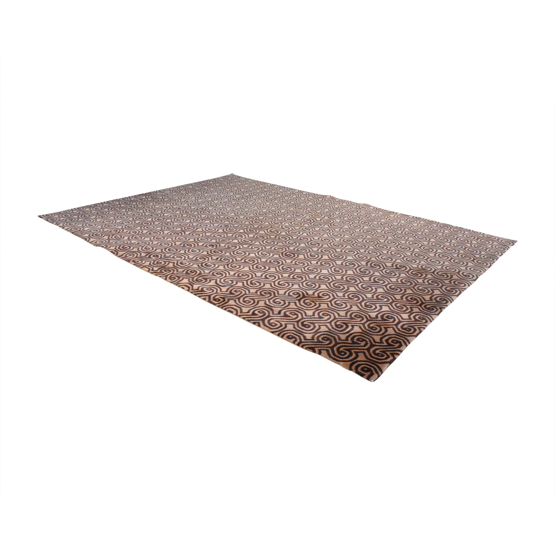 ABC Carpet & Home ABC Carpet & Home Vintage Art Deco-Style Rug for sale