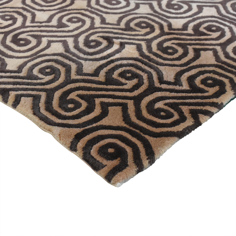 ABC Carpet & Home Vintage Art Deco-Style Rug / Rugs