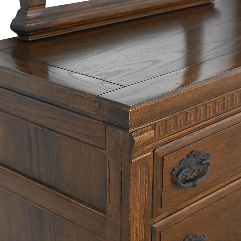 Ethan Allen Ethan Allen Royal Charter Triple Dresser with Mirrors discount
