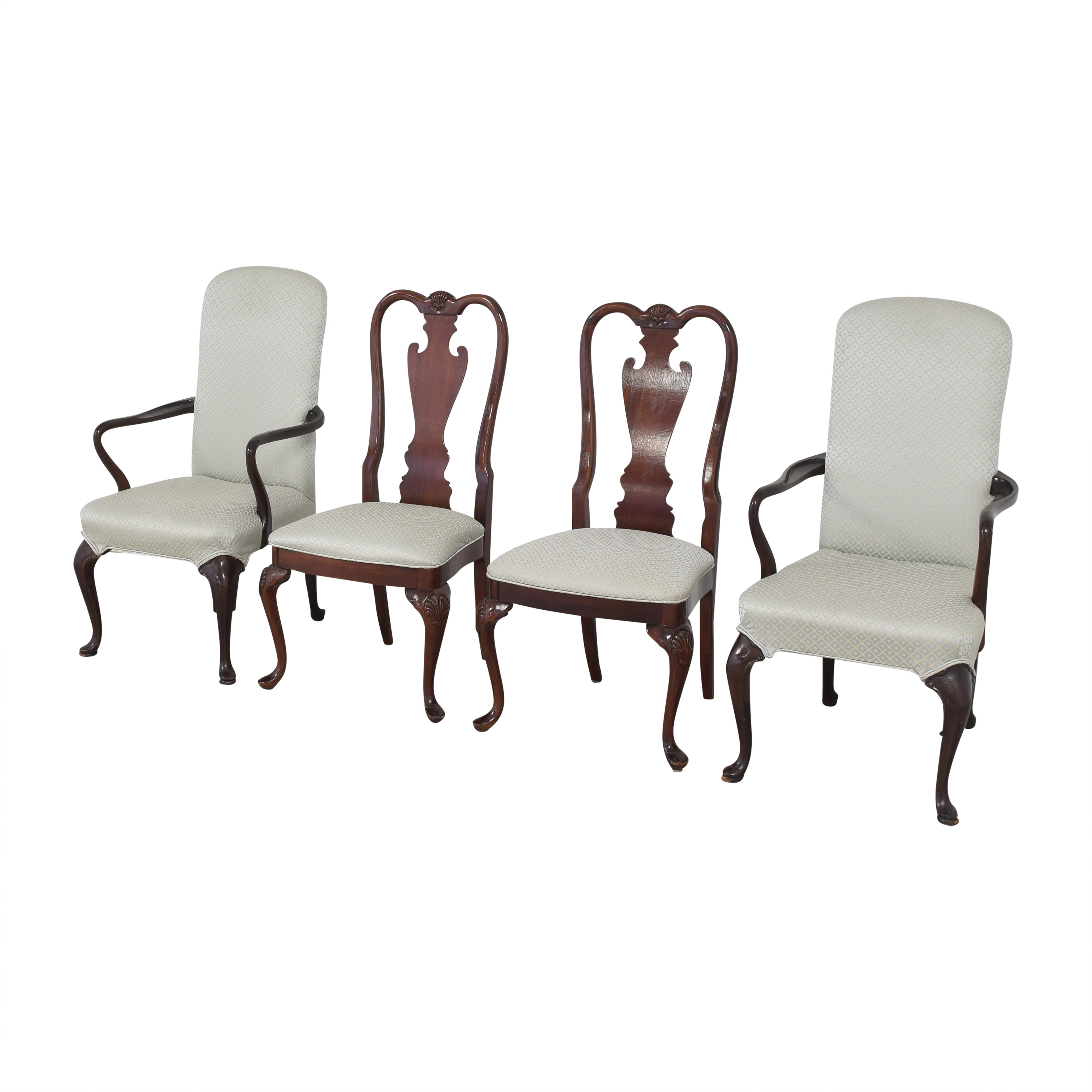 Stickley Furniture Stickley Furniture Queen Anne-Style Dining Chairs ct