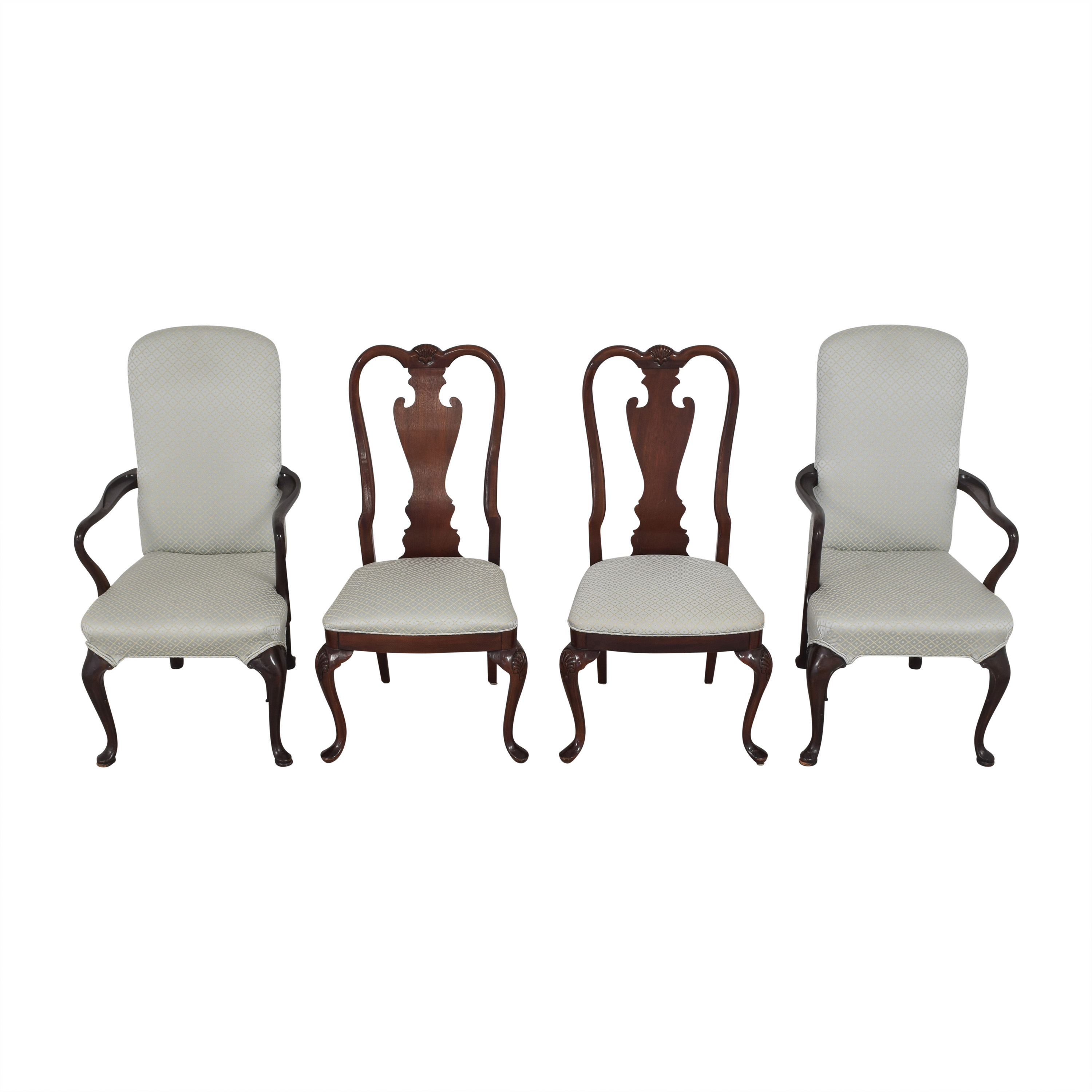 shop Stickley Furniture Queen Anne-Style Dining Chairs Stickley Furniture