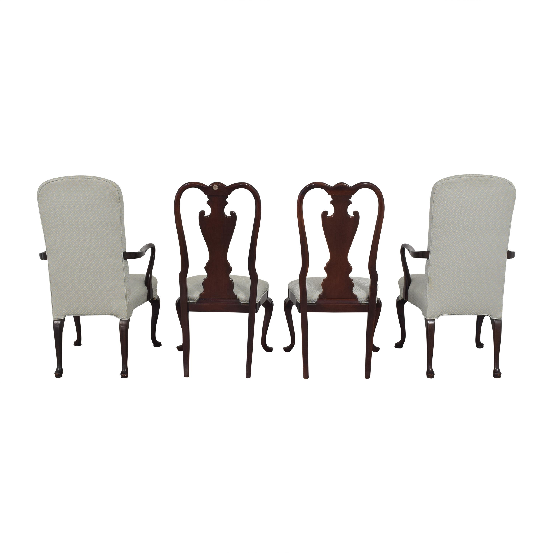 shop Stickley Furniture Queen Anne-Style Dining Chairs Stickley Furniture Chairs