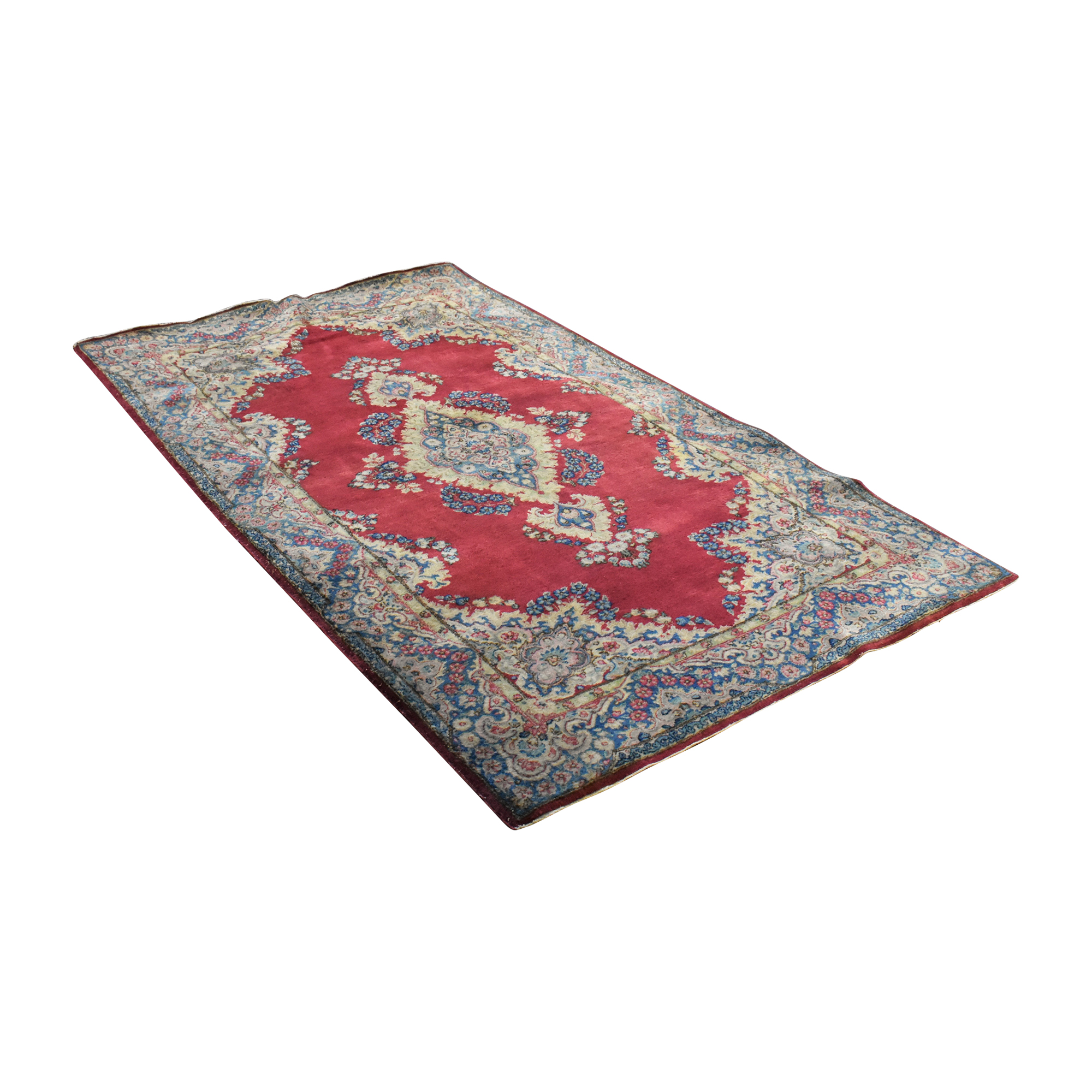 Patterned Persian-Style Area Rug on sale