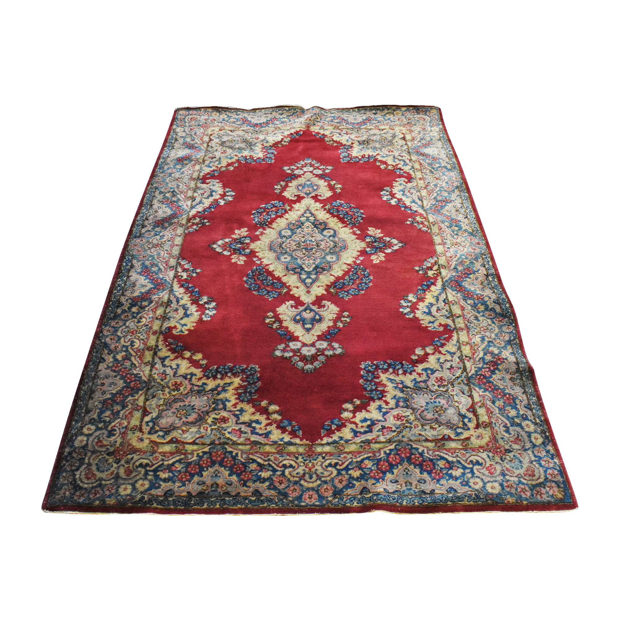Patterned Persian-Style Area Rug ct