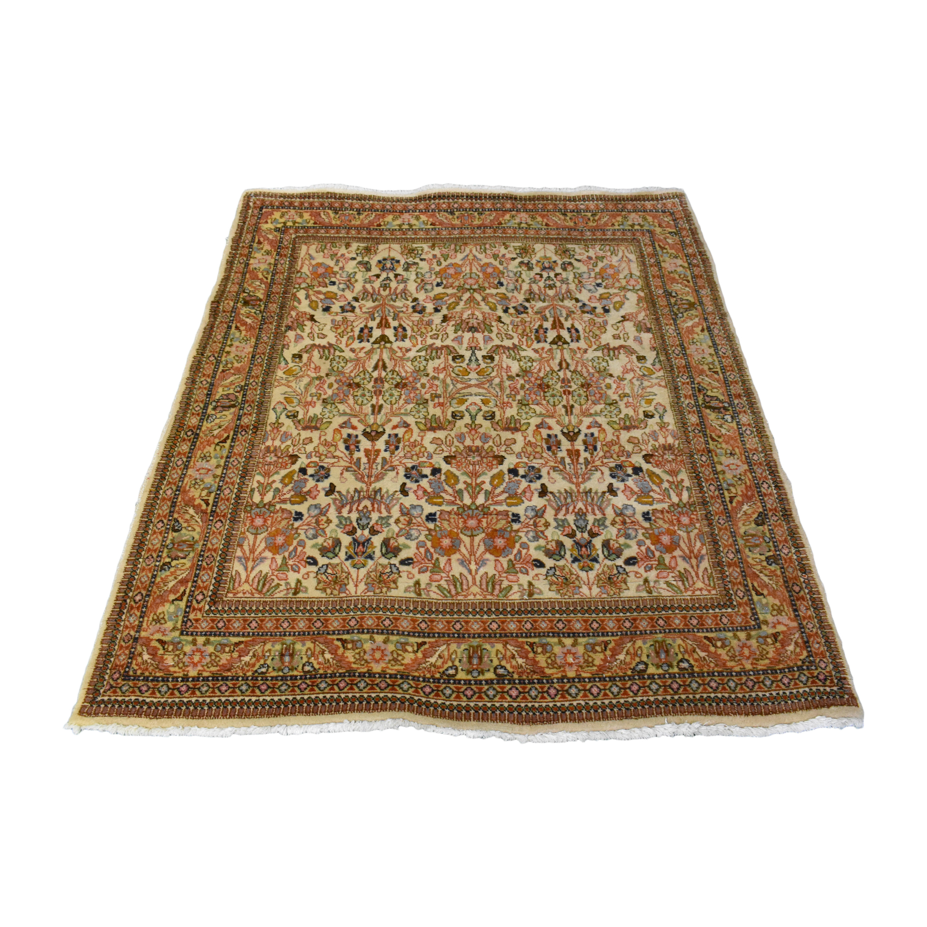 shop Tabatabaie Persian-Style Area Rug