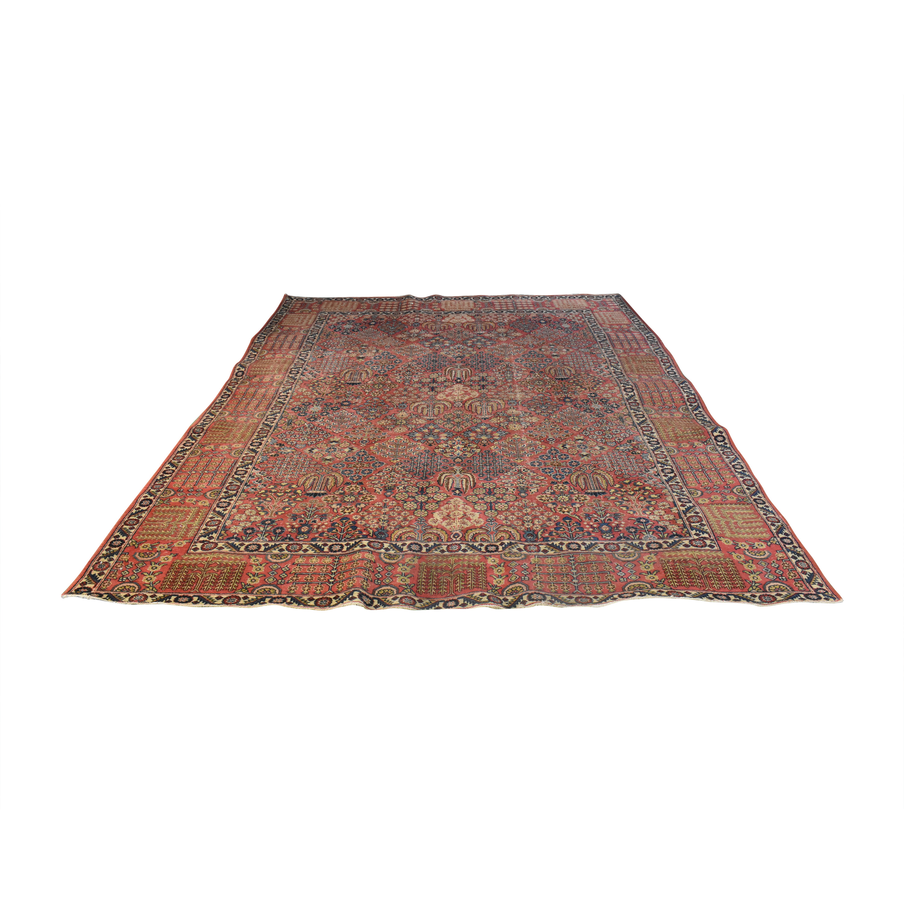 buy Persian-Style Patterned Area Rug  Rugs