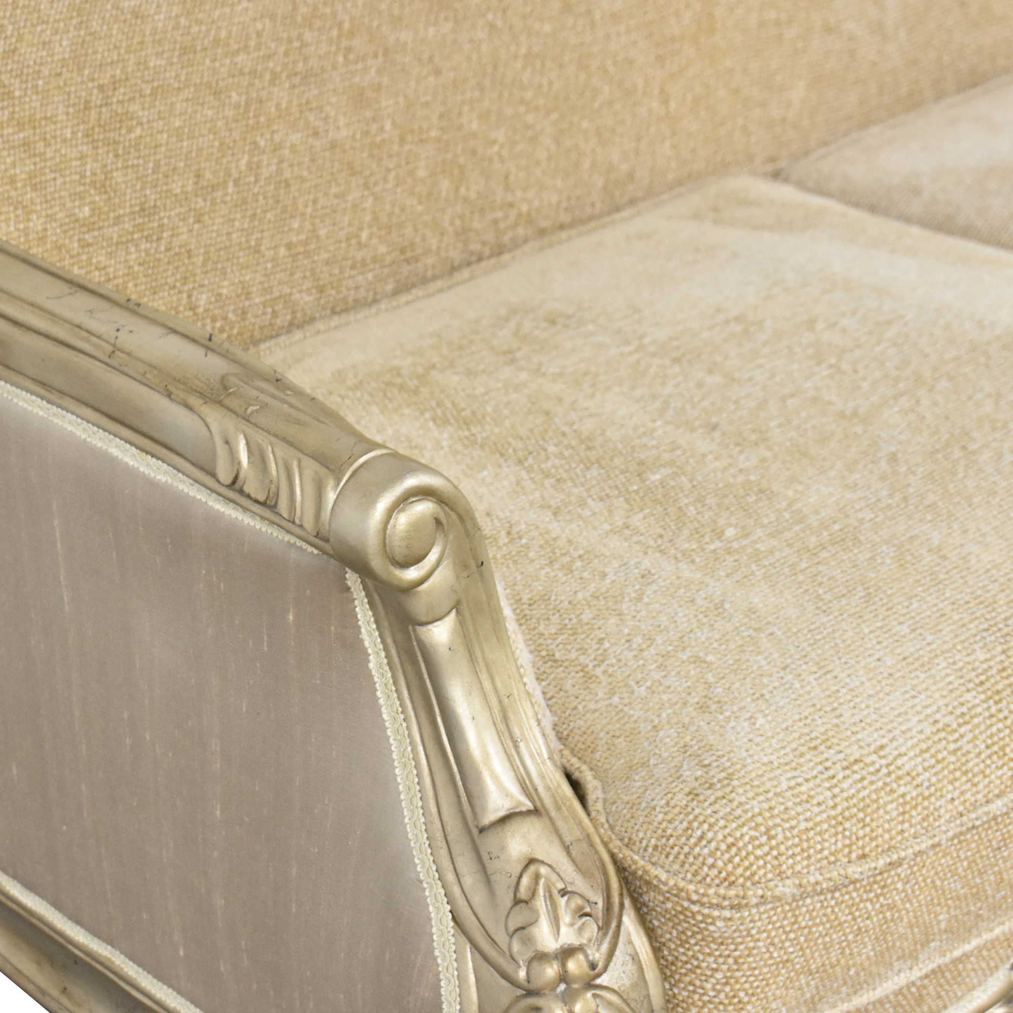 Country French-Style Loveseat sale