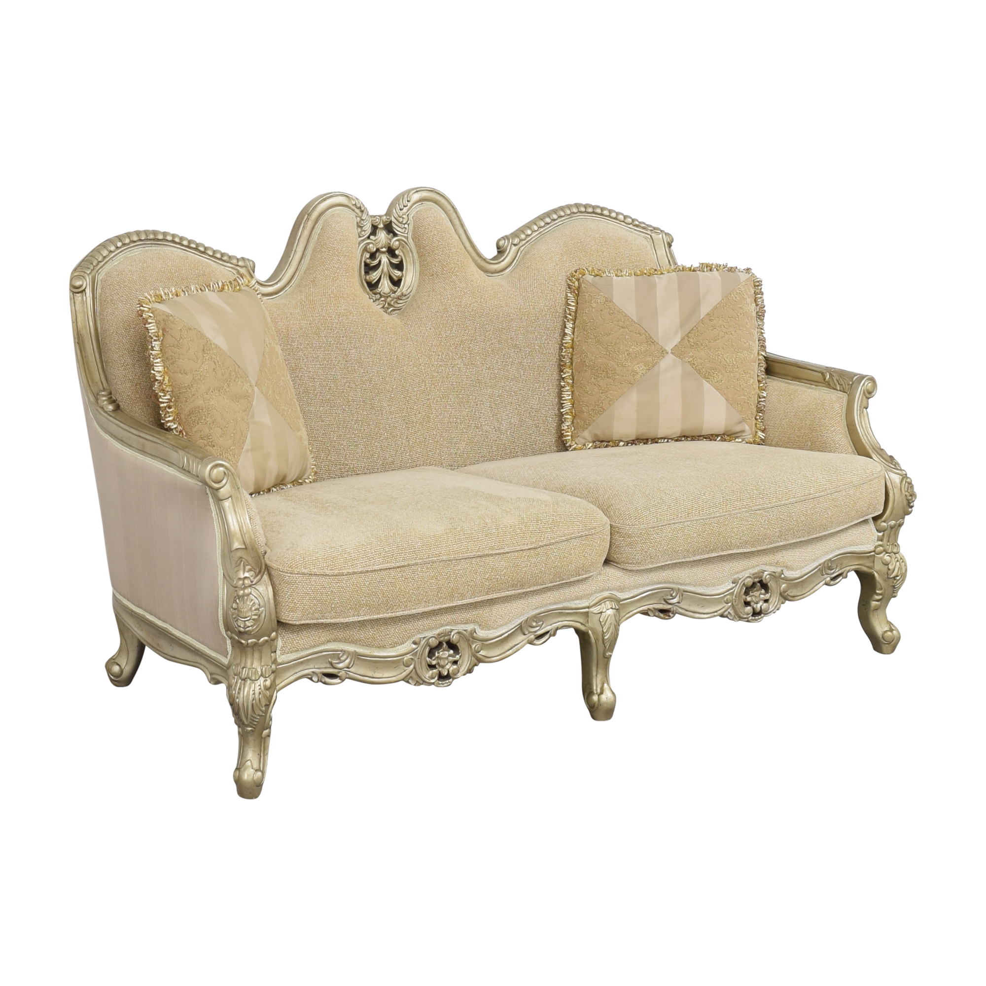 shop Country French-Style Loveseat  Loveseats