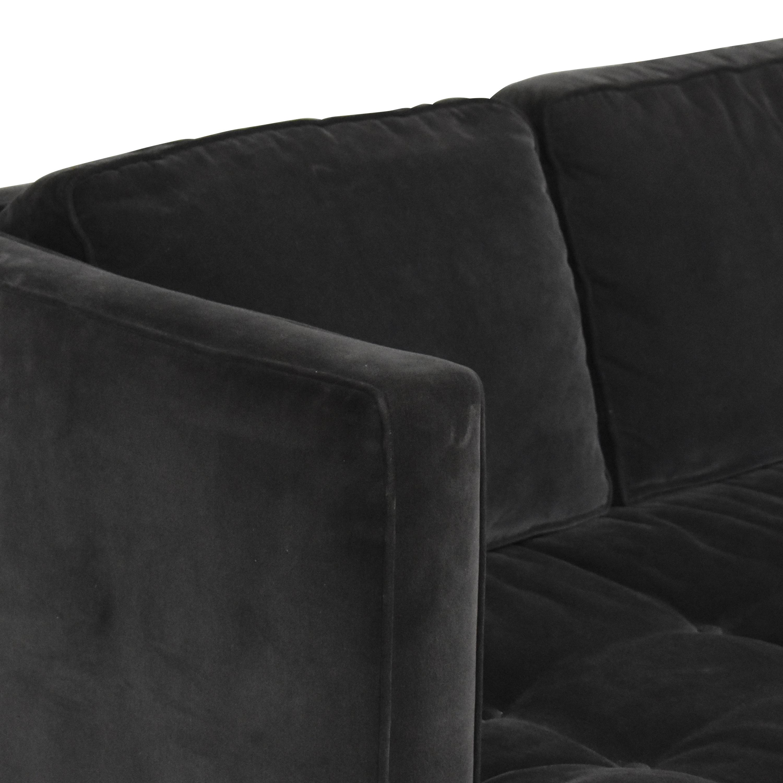 Room & Board Room & Board Hutton Bench Cushion Sofa
