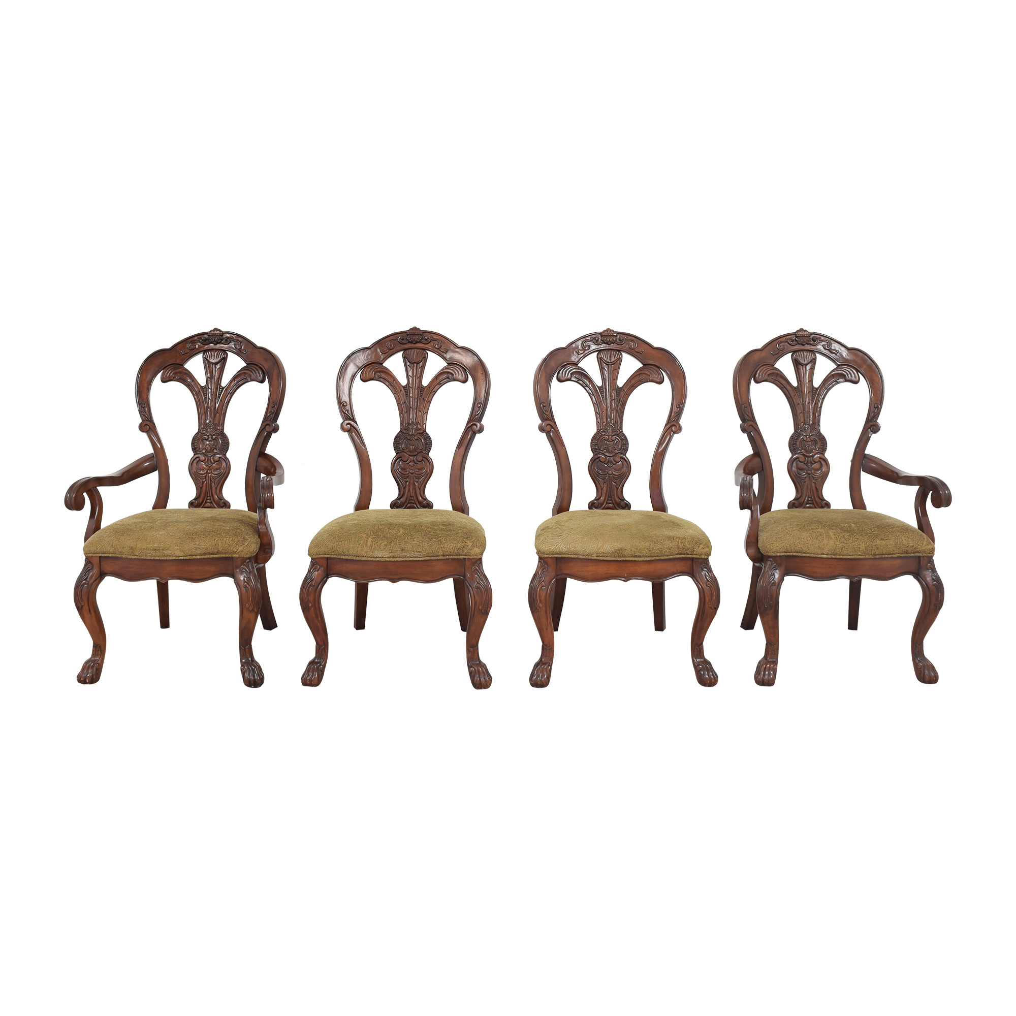 buy Bernhardt Grand Savannah Dining Chairs Bernhardt