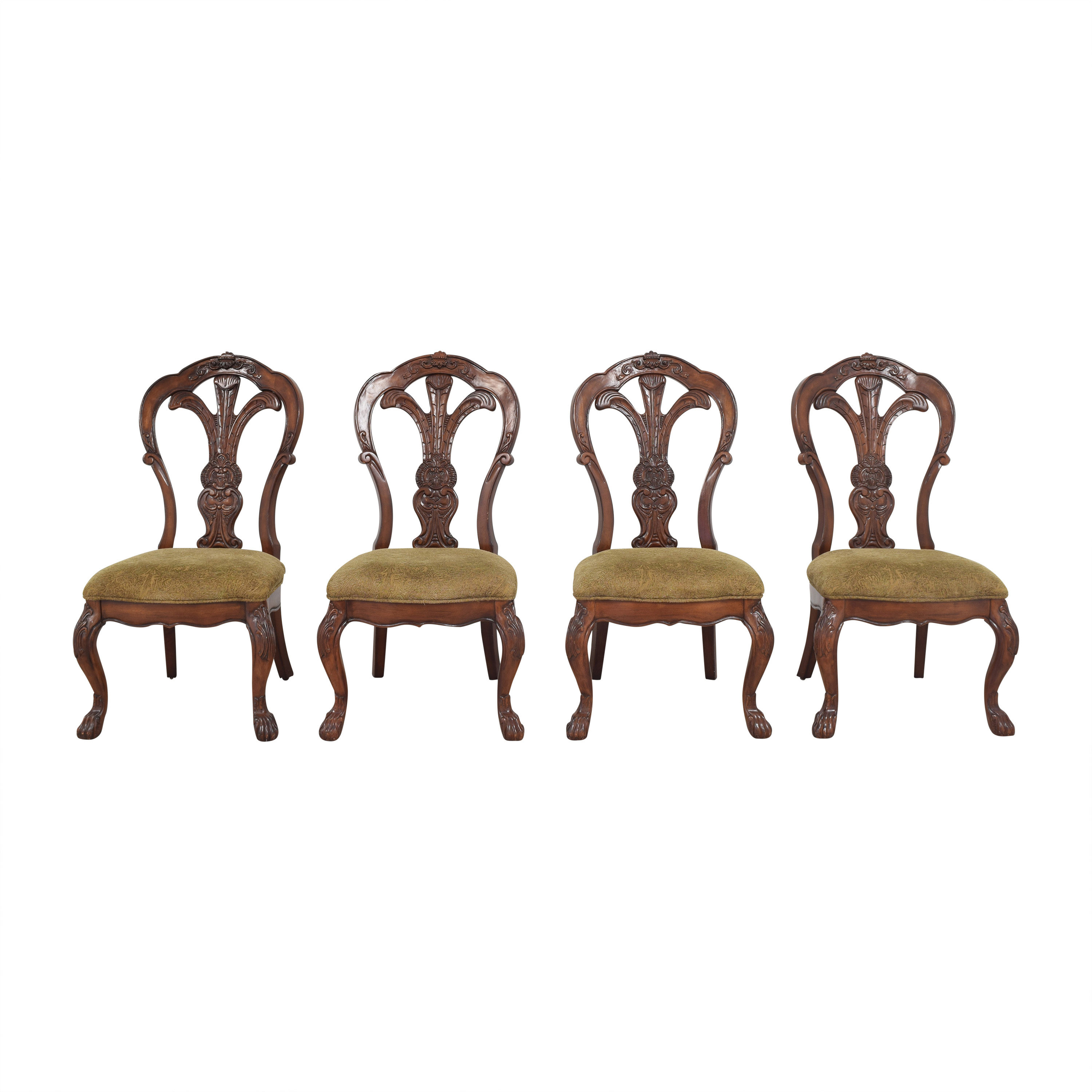 buy Bernhardt Grand Savannah Dining Side Chairs Bernhardt Dining Chairs
