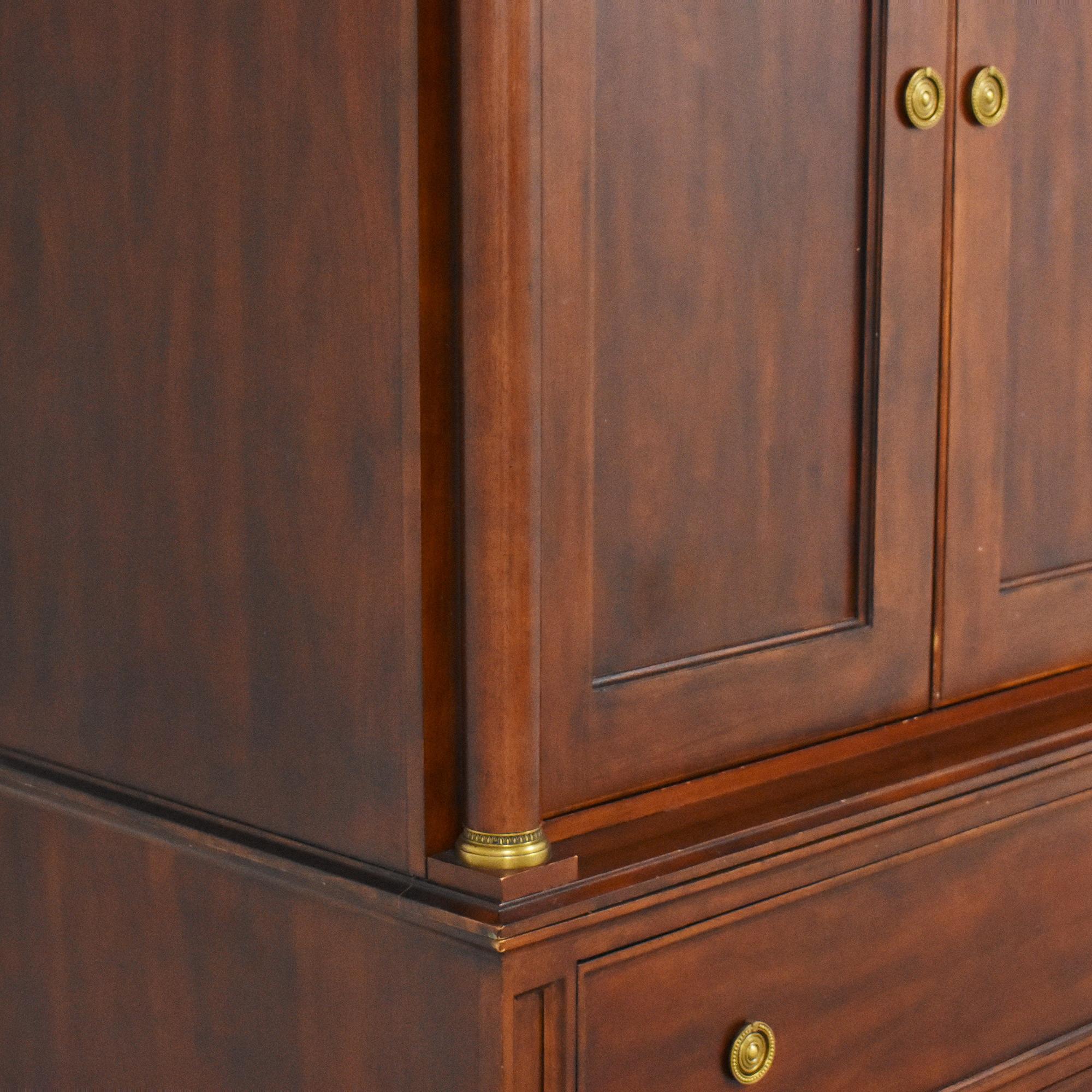 buy Bernhardt Martha Stewart Signature Armoire Bernhardt Storage