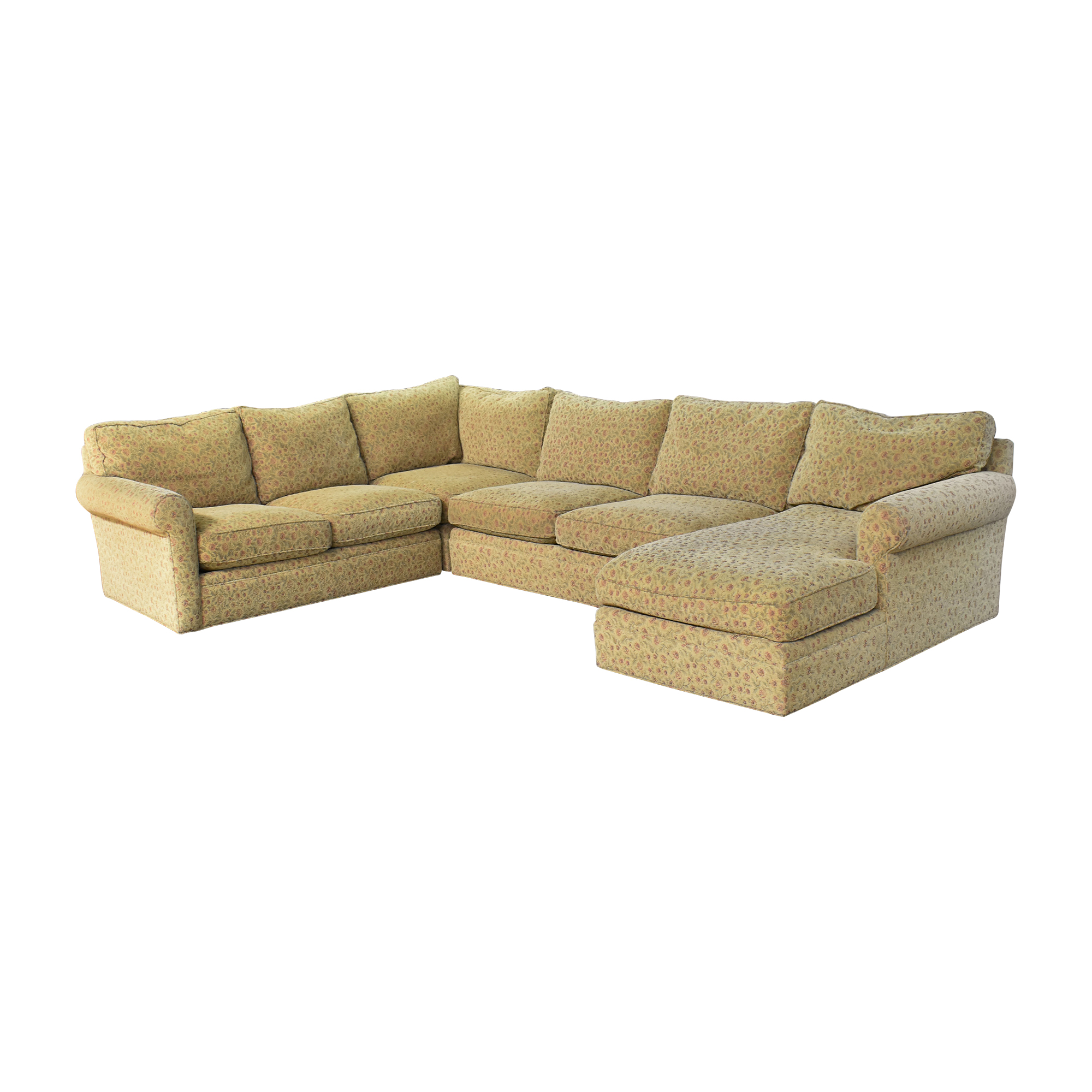 Crate & Barrel Crate & Barrel Huntley Chaise U Sectional Sofa coupon
