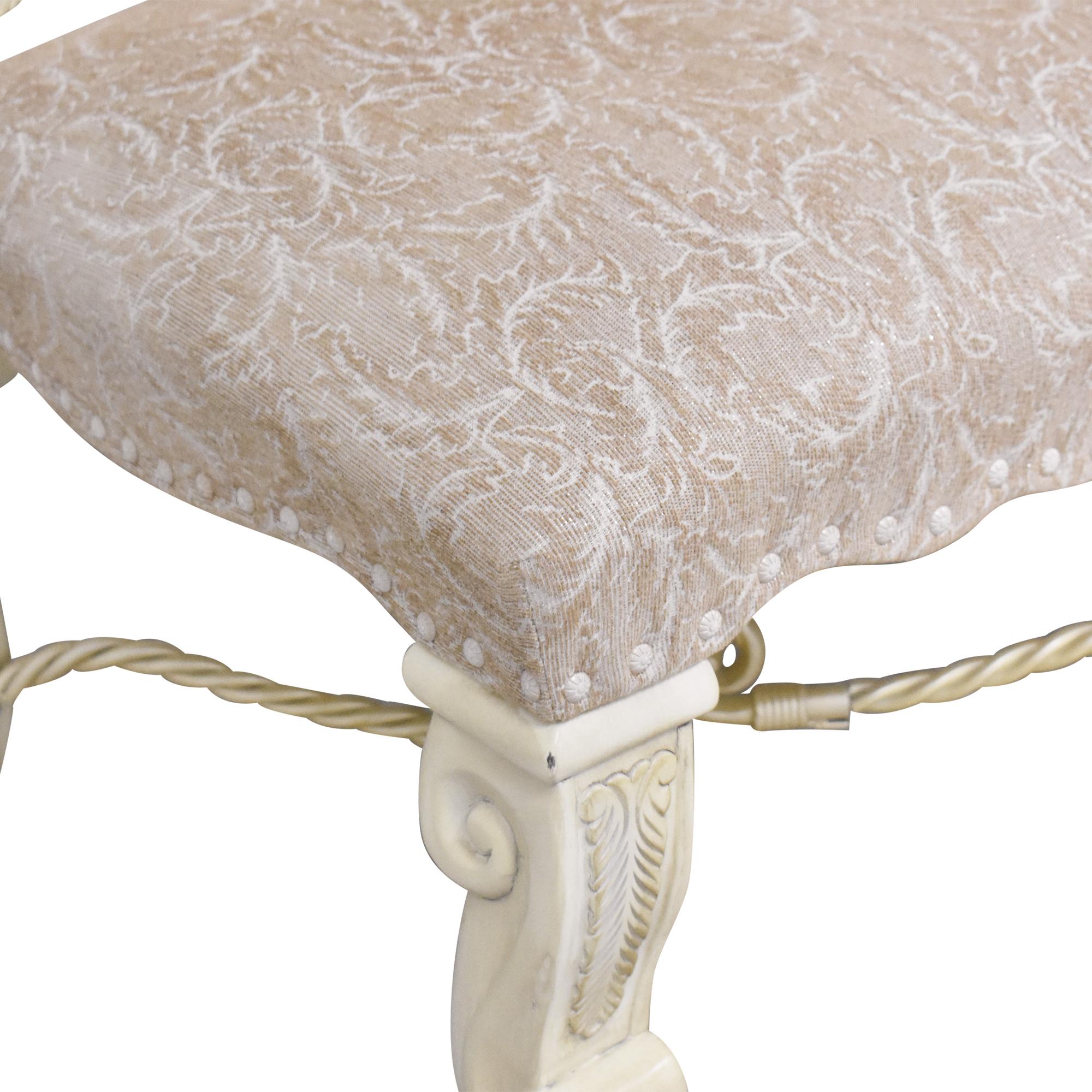 AICO Furniture Monte Carlo Snow Dining Side Chairs AICO