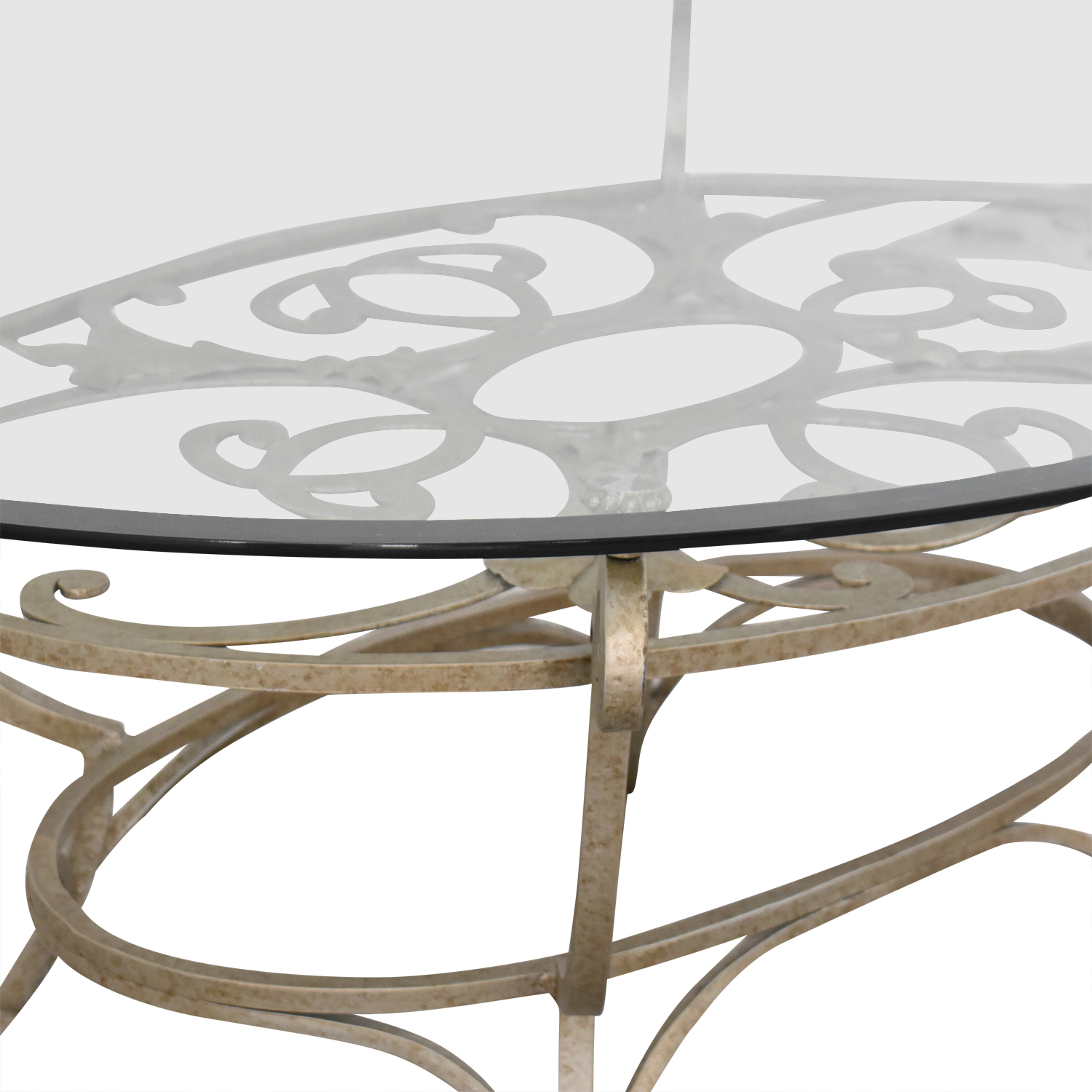 Domain Home Domain Home Oval Cocktail Table used