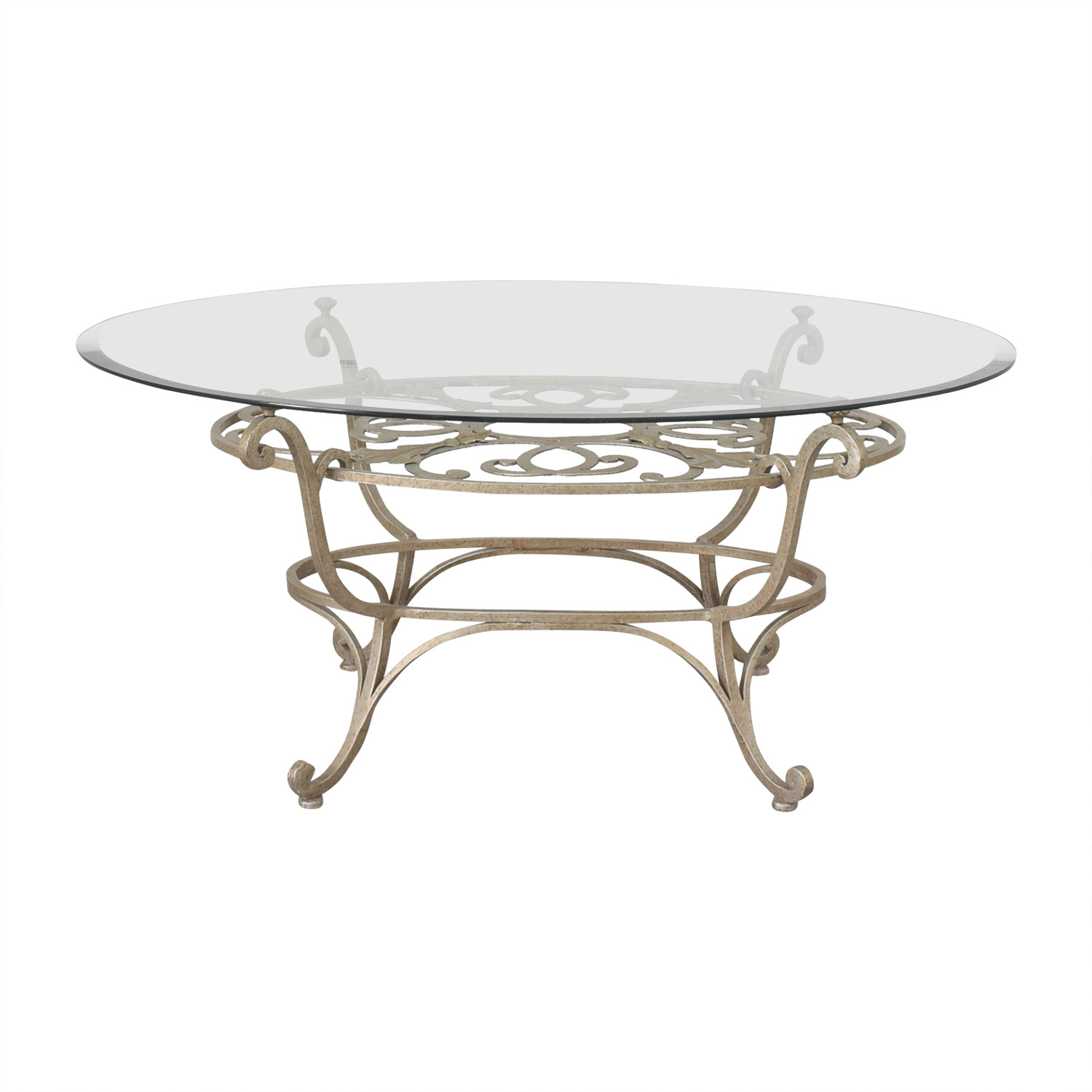 Domain Home Domain Home Oval Cocktail Table