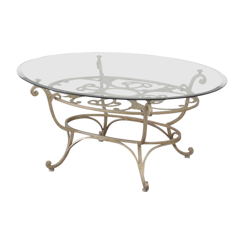 Domain Home Domain Home Oval Cocktail Table nj