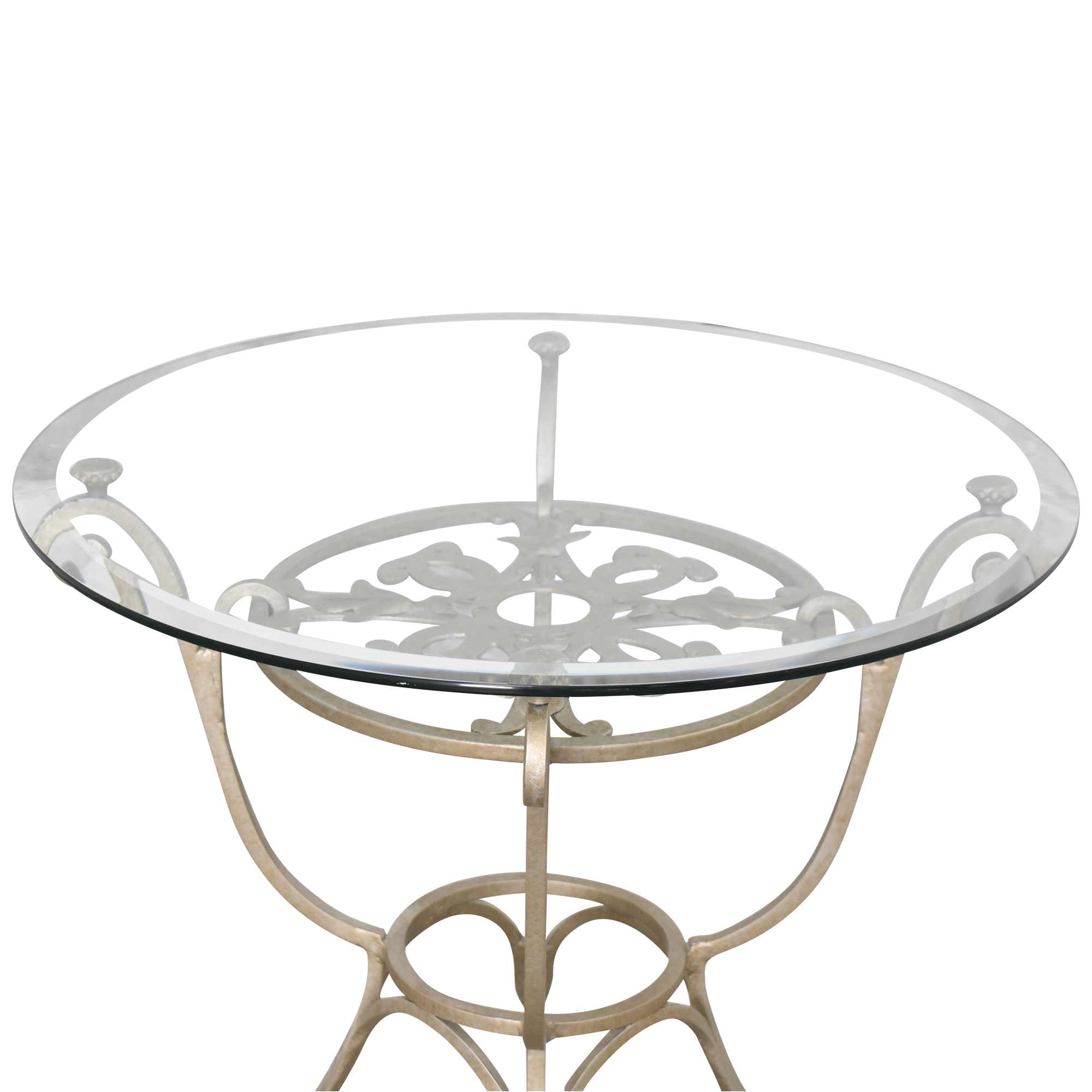 Domain Home Domain Home Decorative Side Table silver