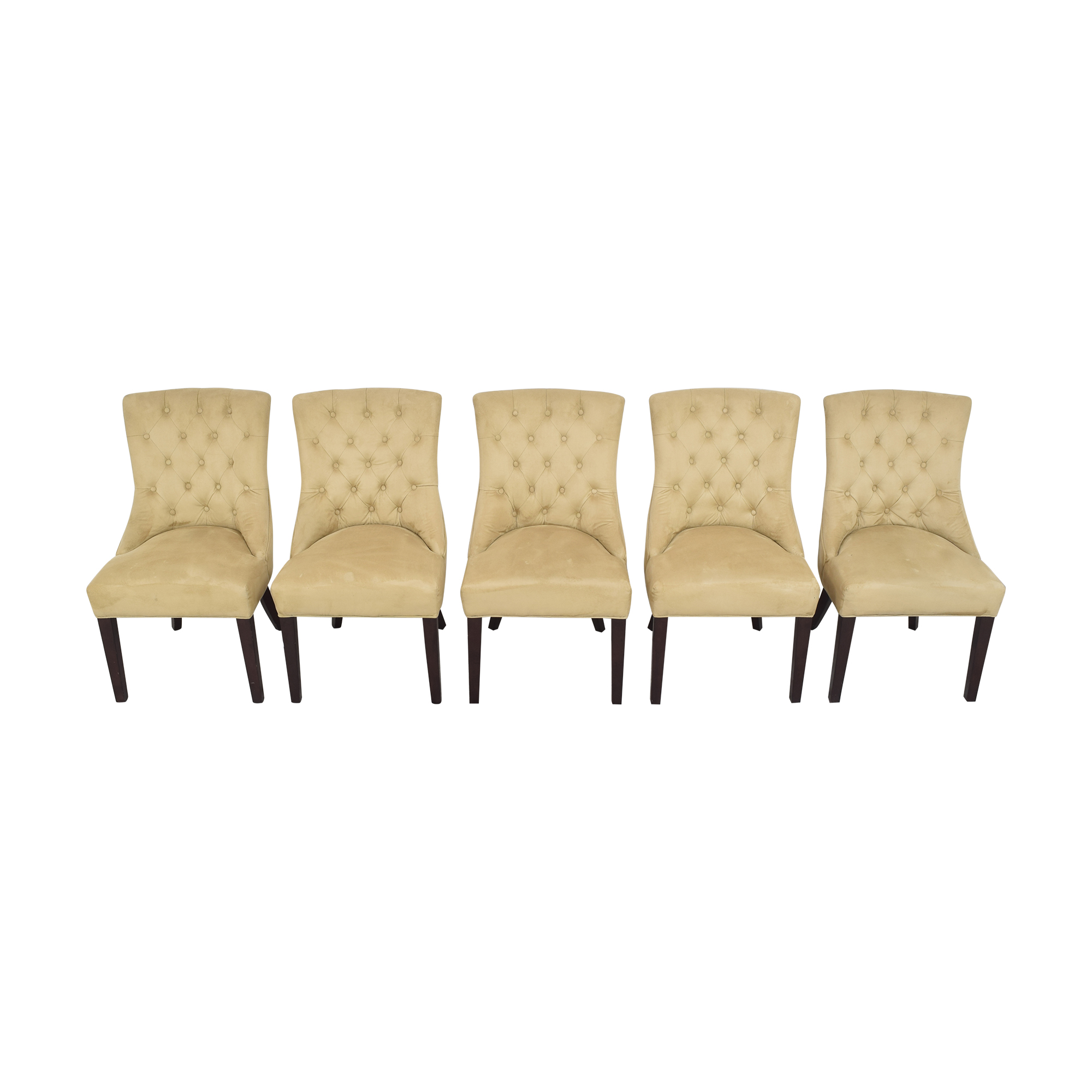 buy Pottery Barn Pottery Barn Hayes Tufted Dining Chairs online
