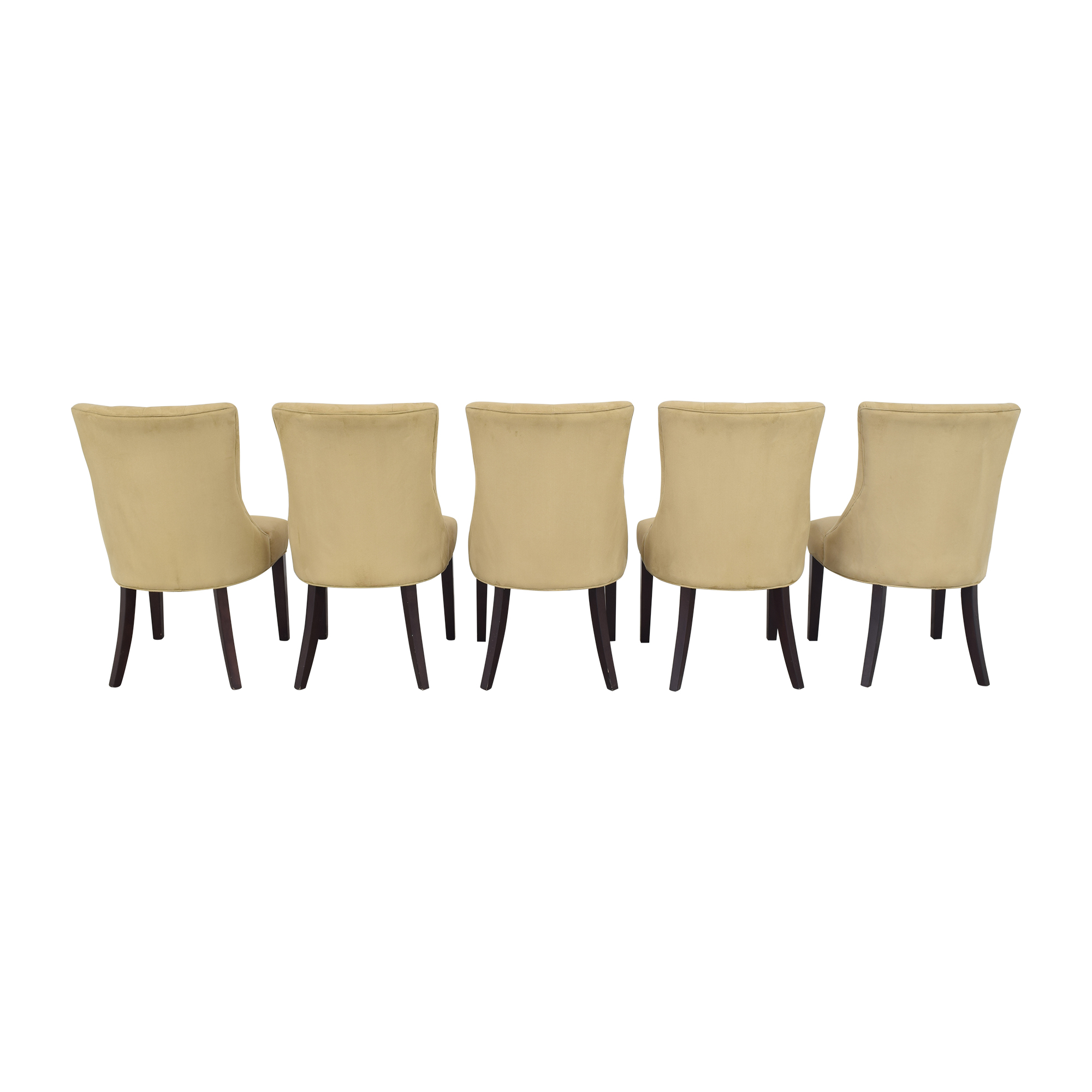 Pottery Barn Pottery Barn Hayes Tufted Dining Chairs Dining Chairs