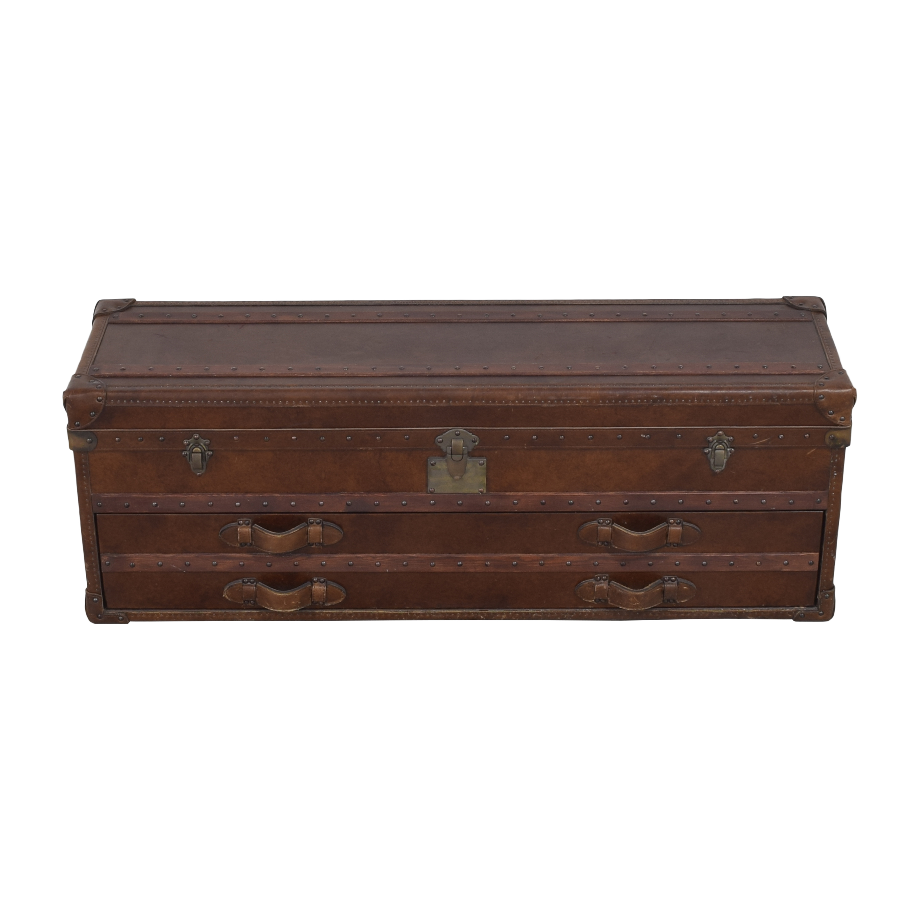 Restoration Hardware Restoration Hardware Mayfair Steamer Trunk Low Chest pa