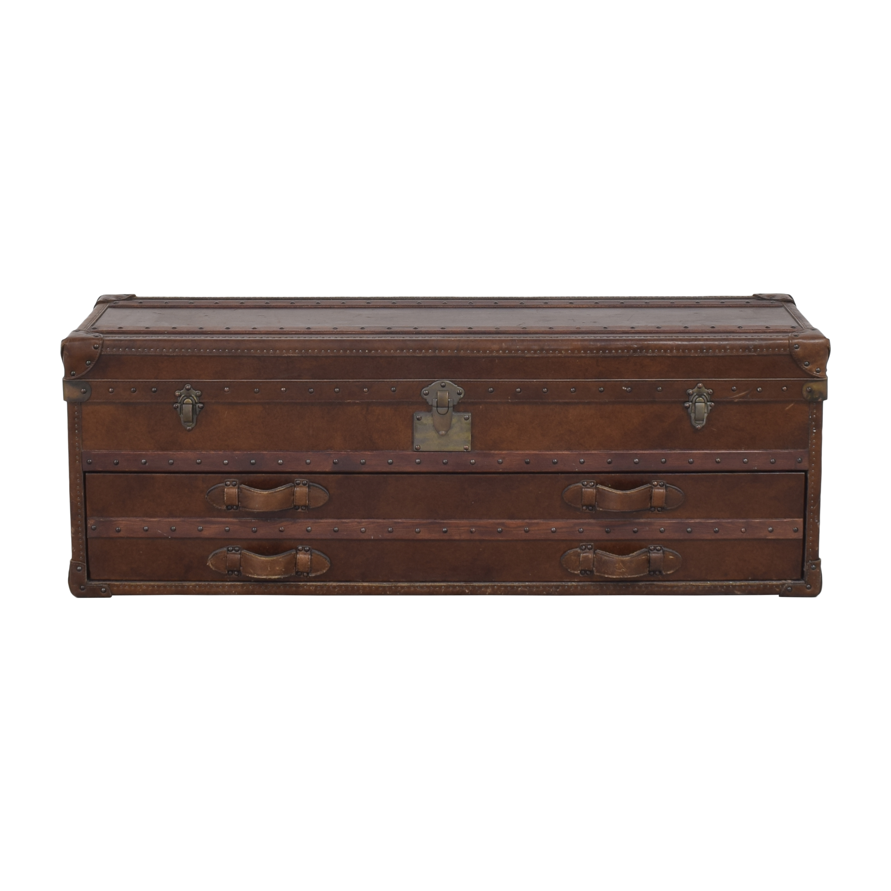Restoration Hardware Restoration Hardware Mayfair Steamer Trunk Low Chest