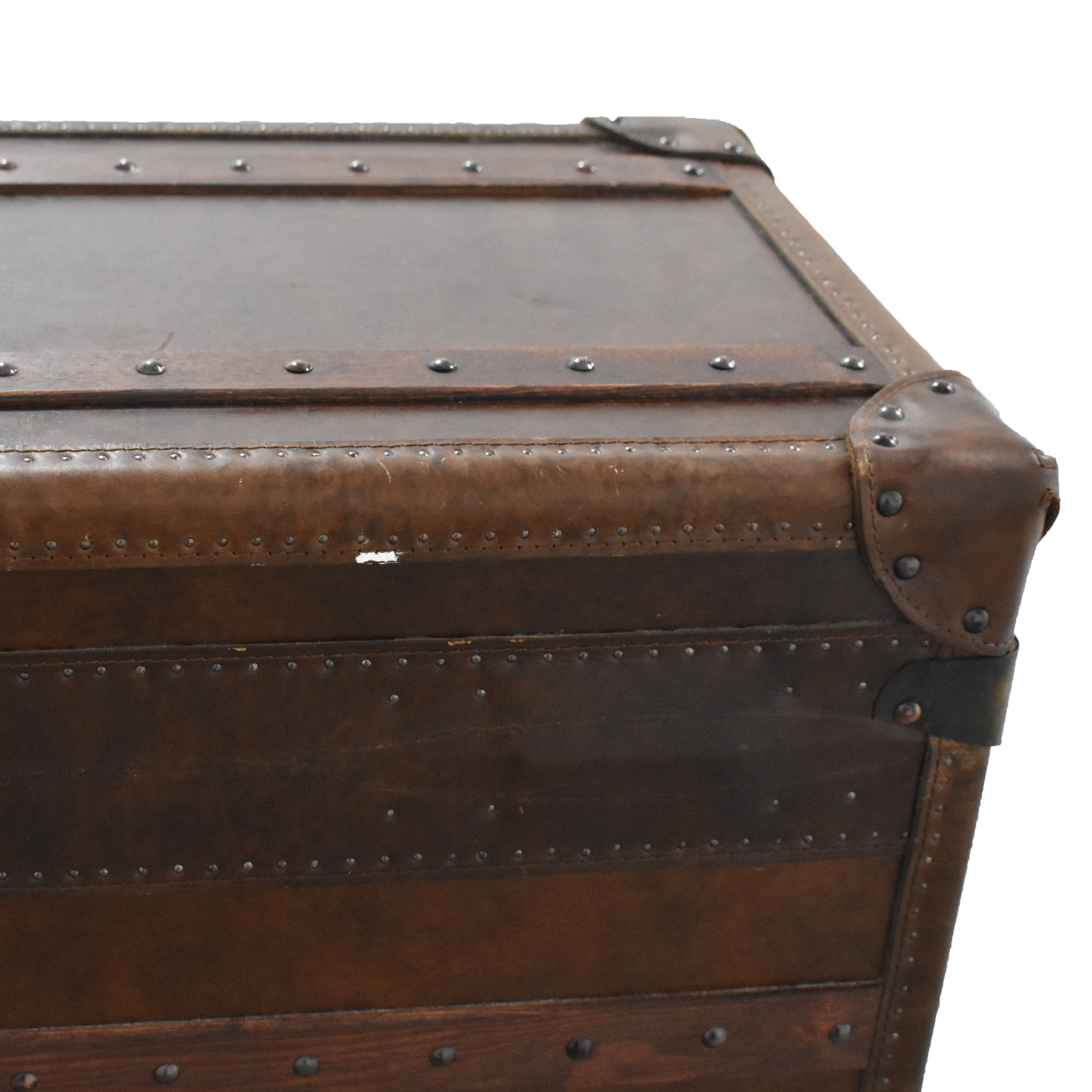 Restoration Hardware Restoration Hardware Mayfair Steamer Trunk Low Chest ct