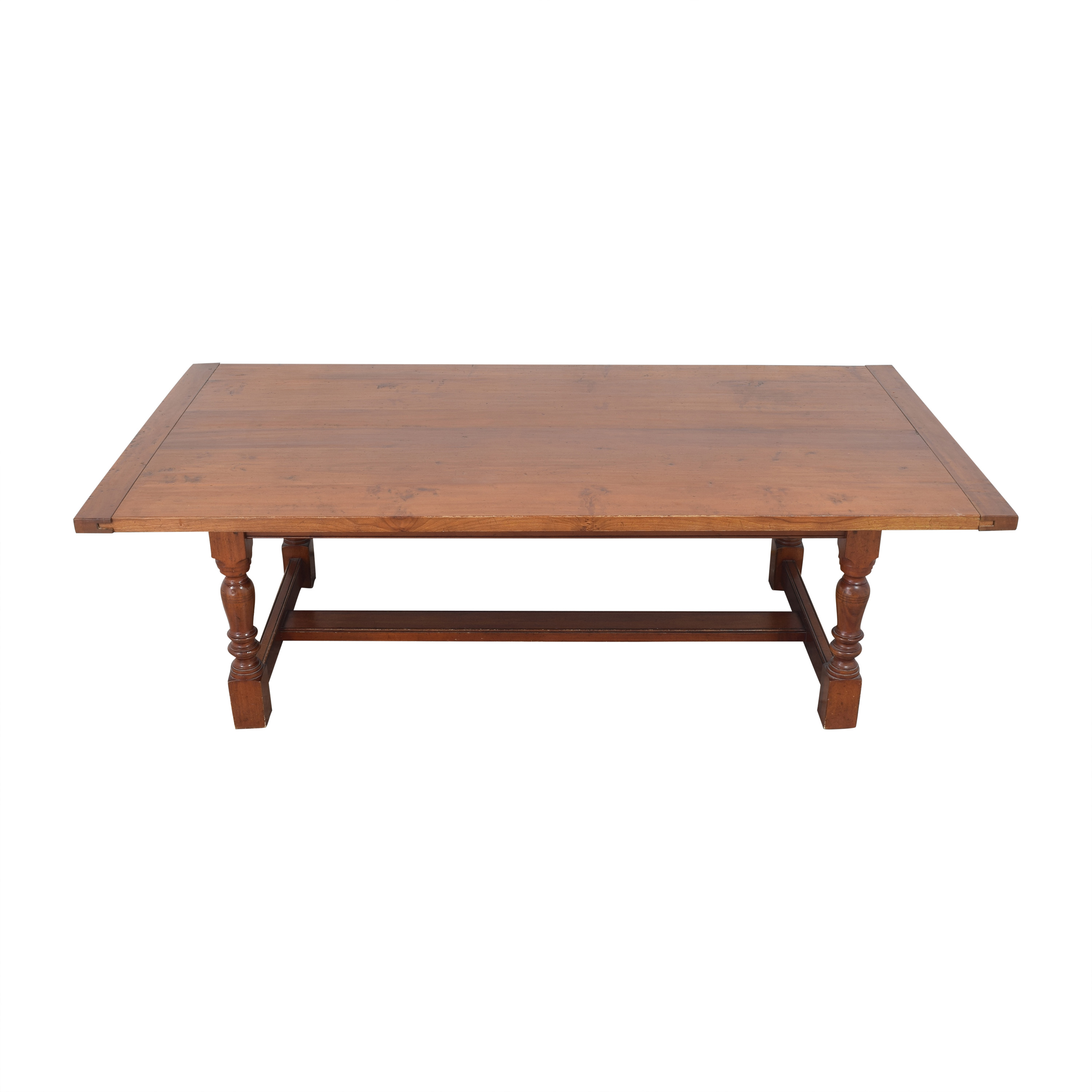 Antique Farmhouse-Style Dining Table dimensions