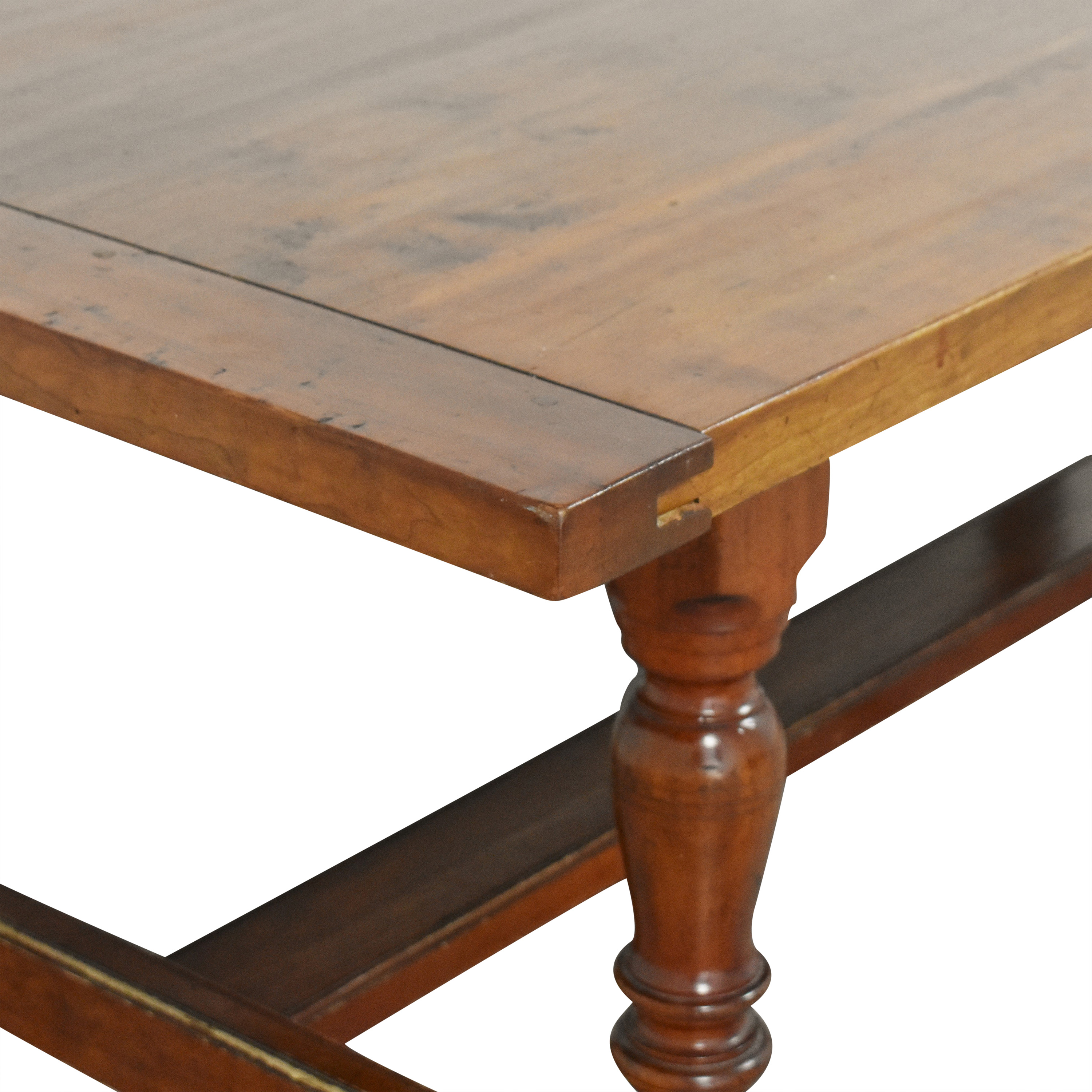buy Antique Farmhouse-Style Dining Table  Tables