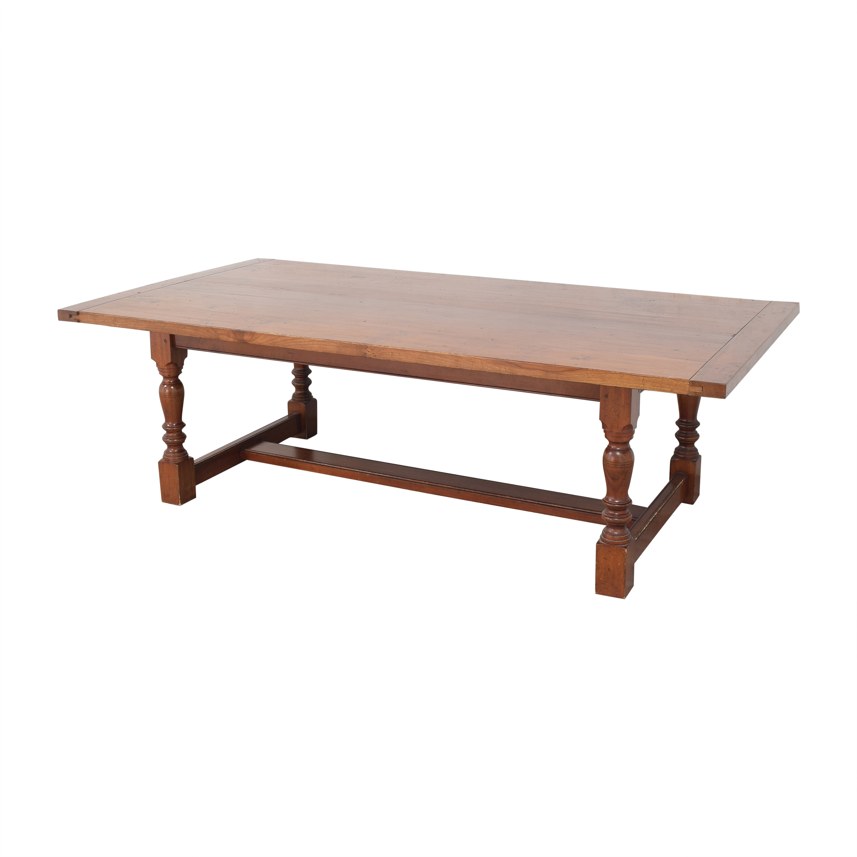 Antique Farmhouse-Style Dining Table Dinner Tables