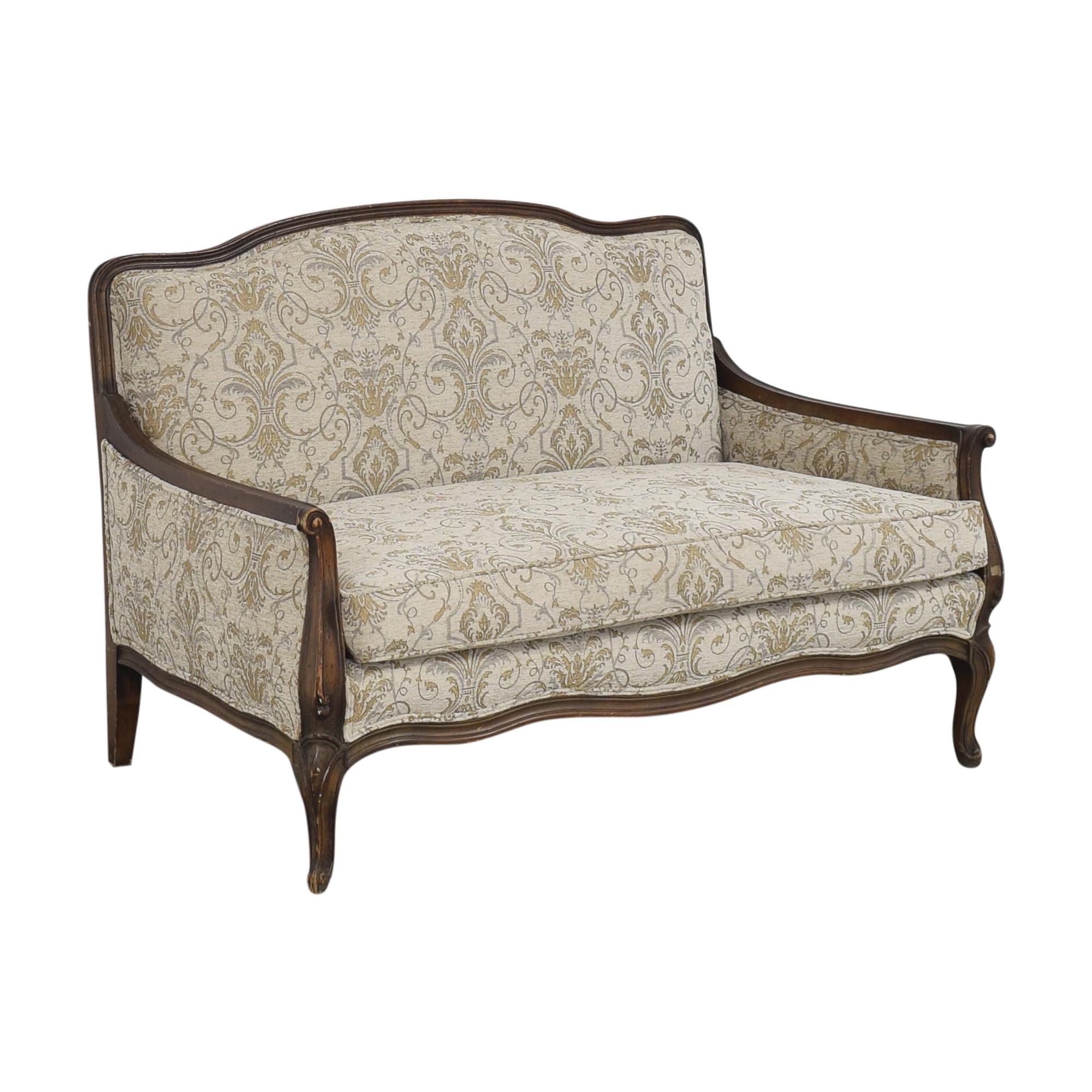 Bassett Furniture Bassett Furniture French-Style Settee Sofas