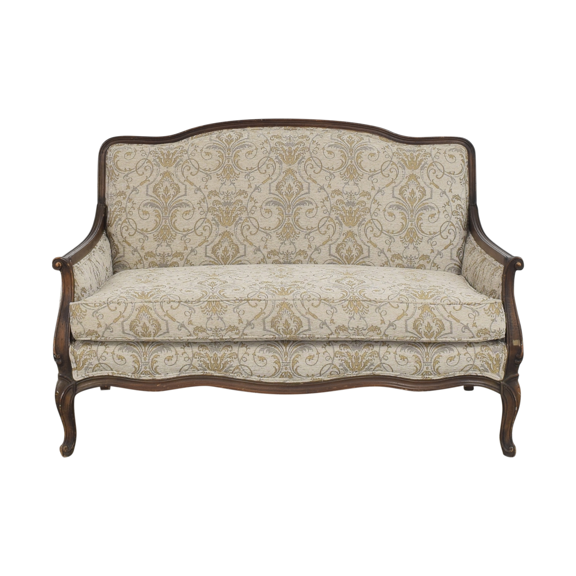 Bassett Furniture Bassett Furniture French-Style Settee ma