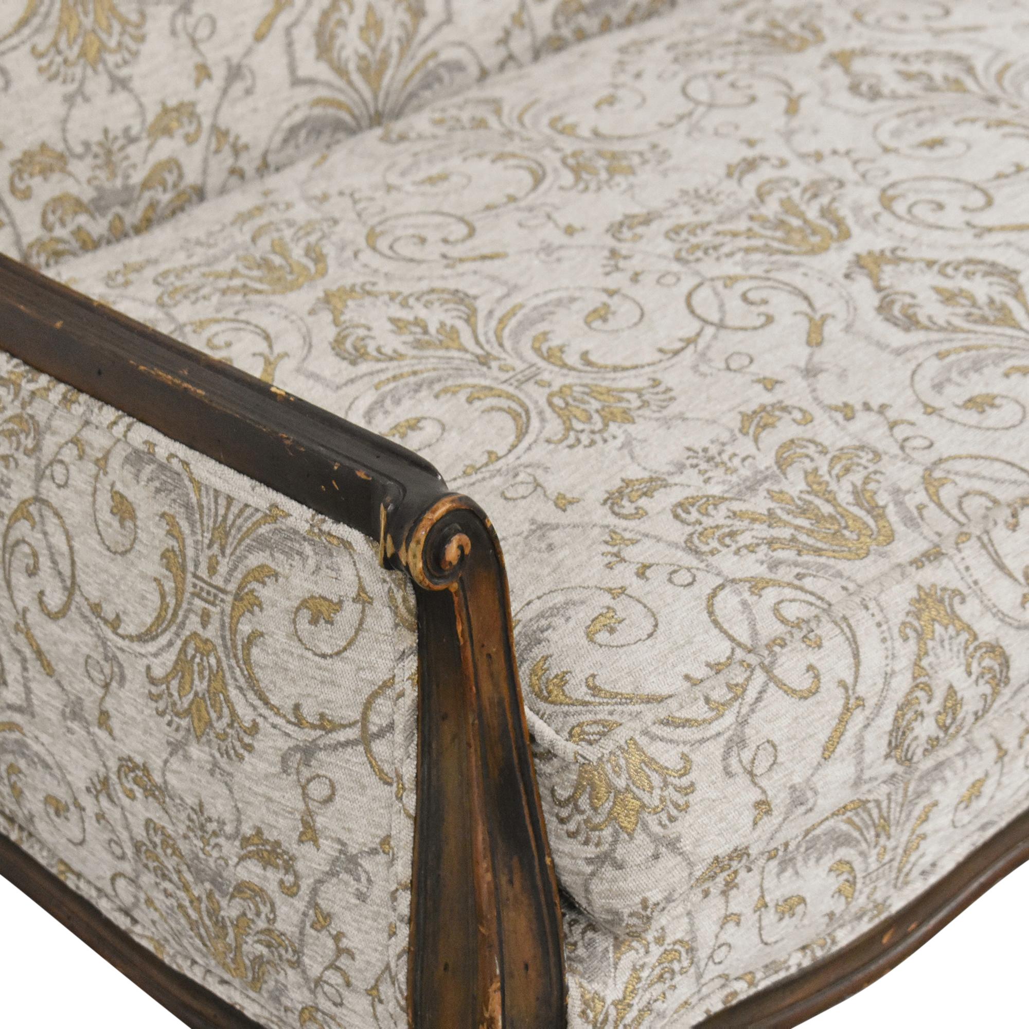 Bassett Furniture Bassett Furniture French-Style Settee