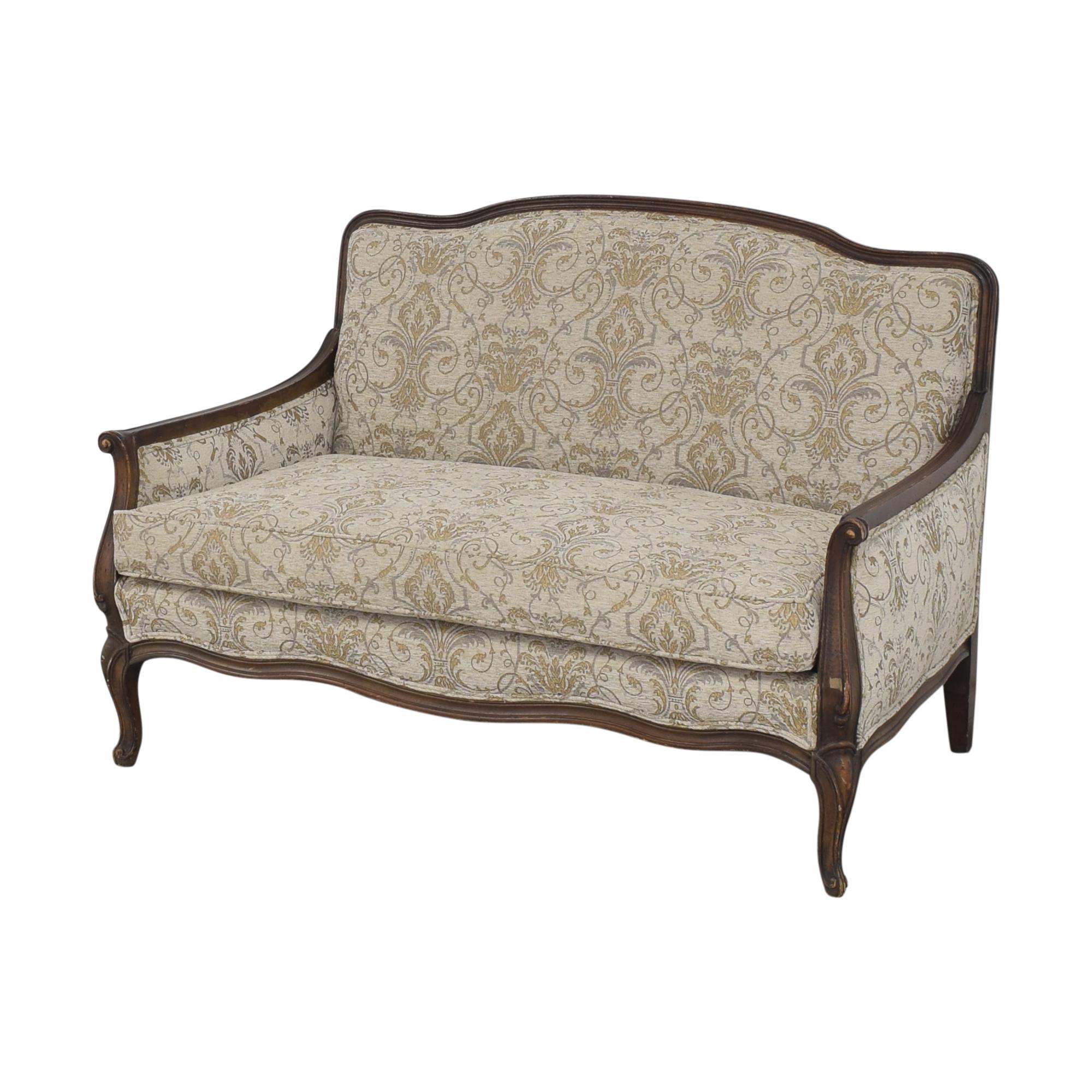 buy Bassett Furniture French-Style Settee Bassett Furniture