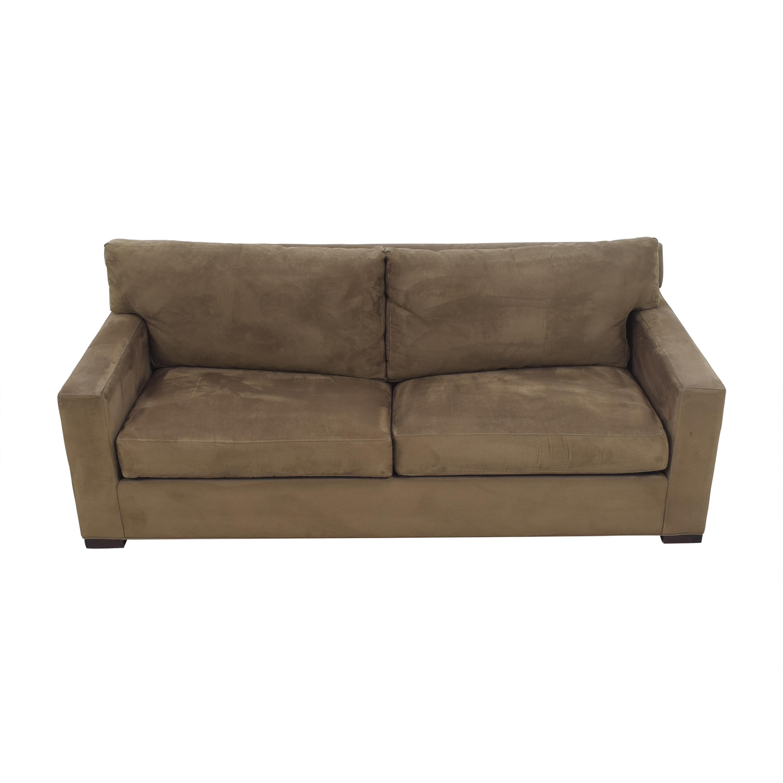 shop Crate & Barrel Axis II Queen Sleeper Sofa Crate & Barrel Sofa Beds