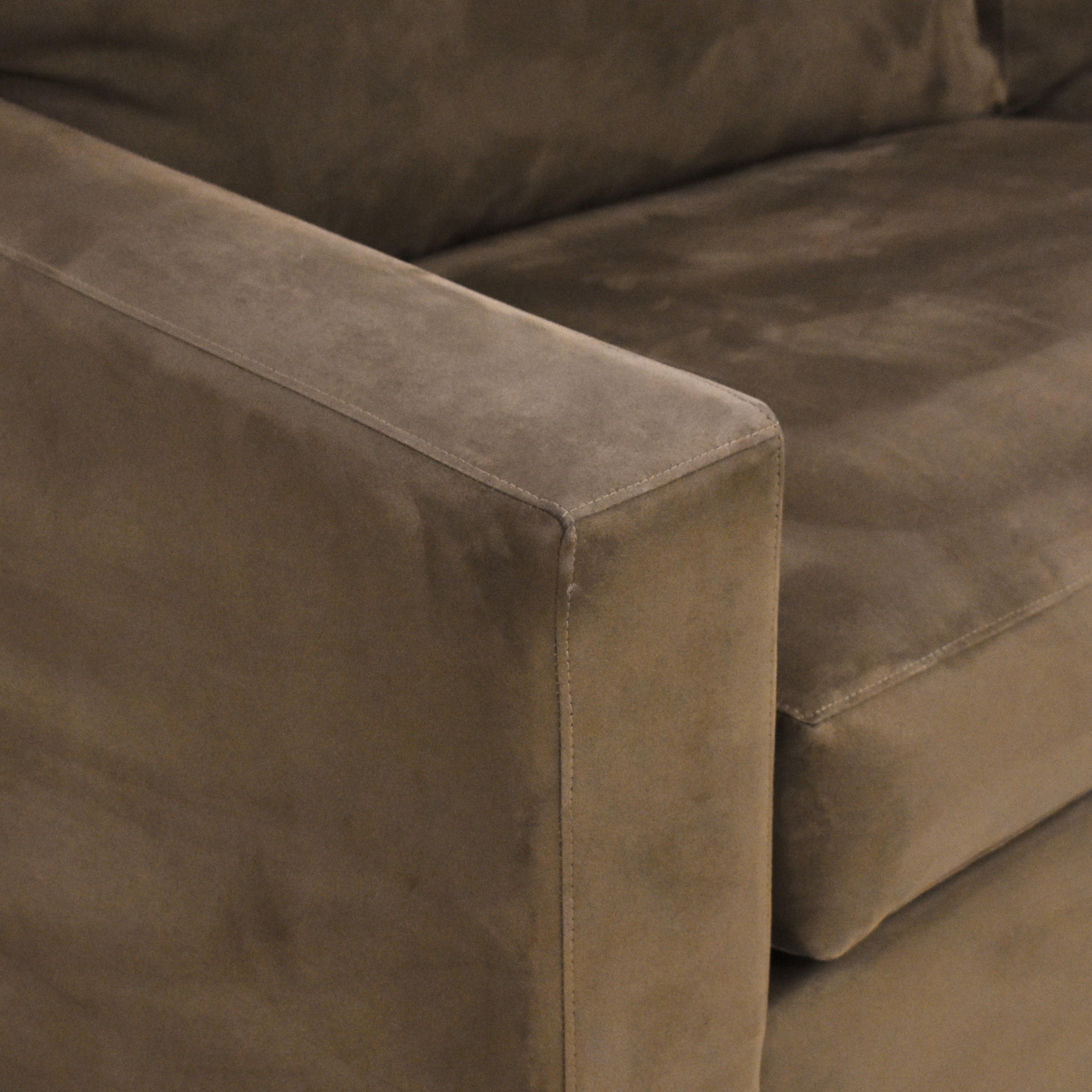 buy Crate & Barrel Crate & Barrel Axis II Queen Sleeper Sofa online