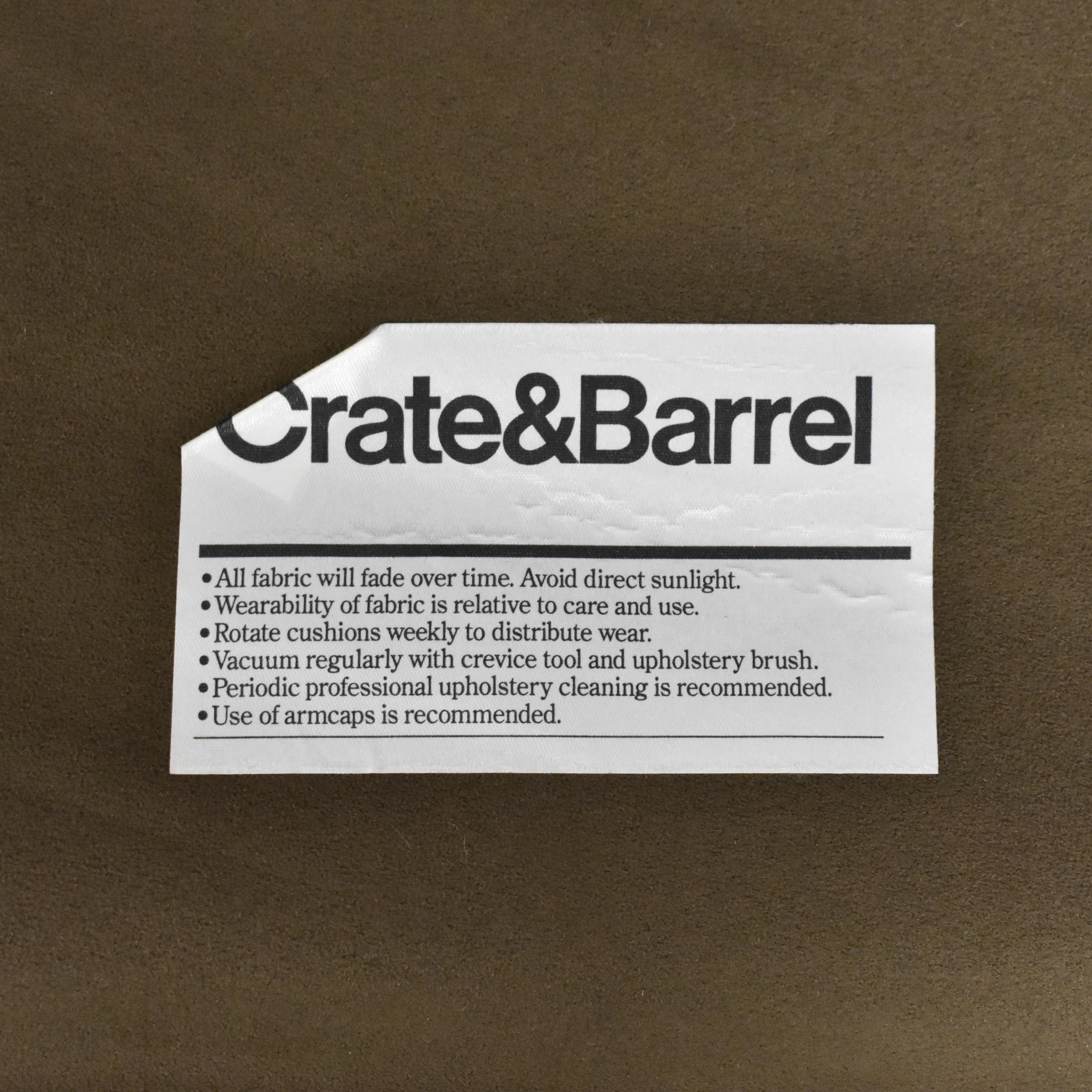 buy Crate & Barrel Axis II Queen Sleeper Sofa Crate & Barrel