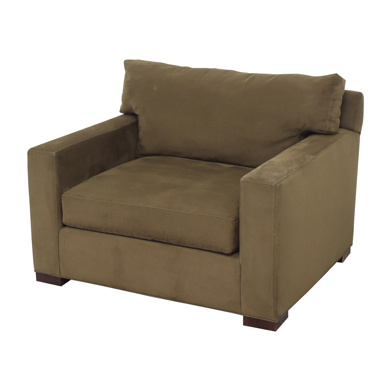 Crate & Barrel Crate & Barrel Axis II Chair brown